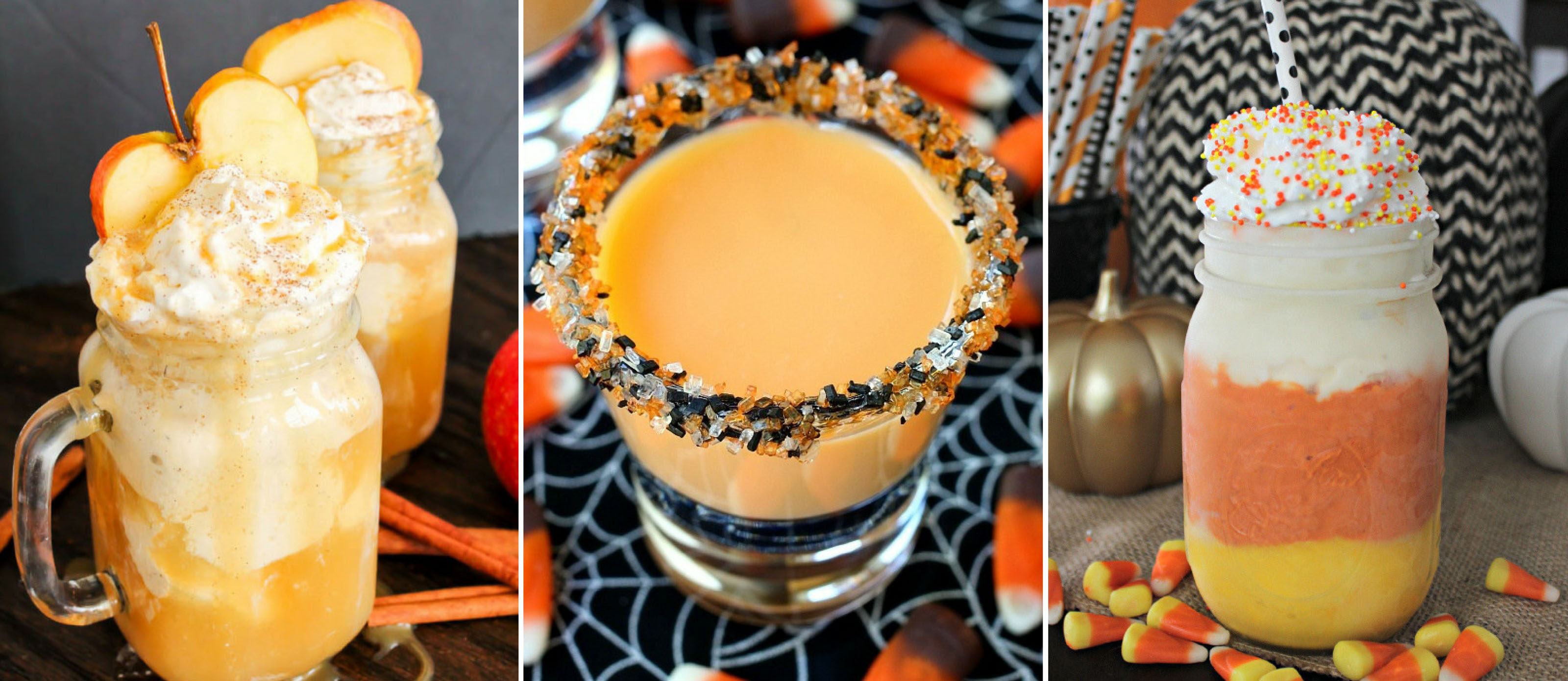 10 cute & creepy halloween drinks