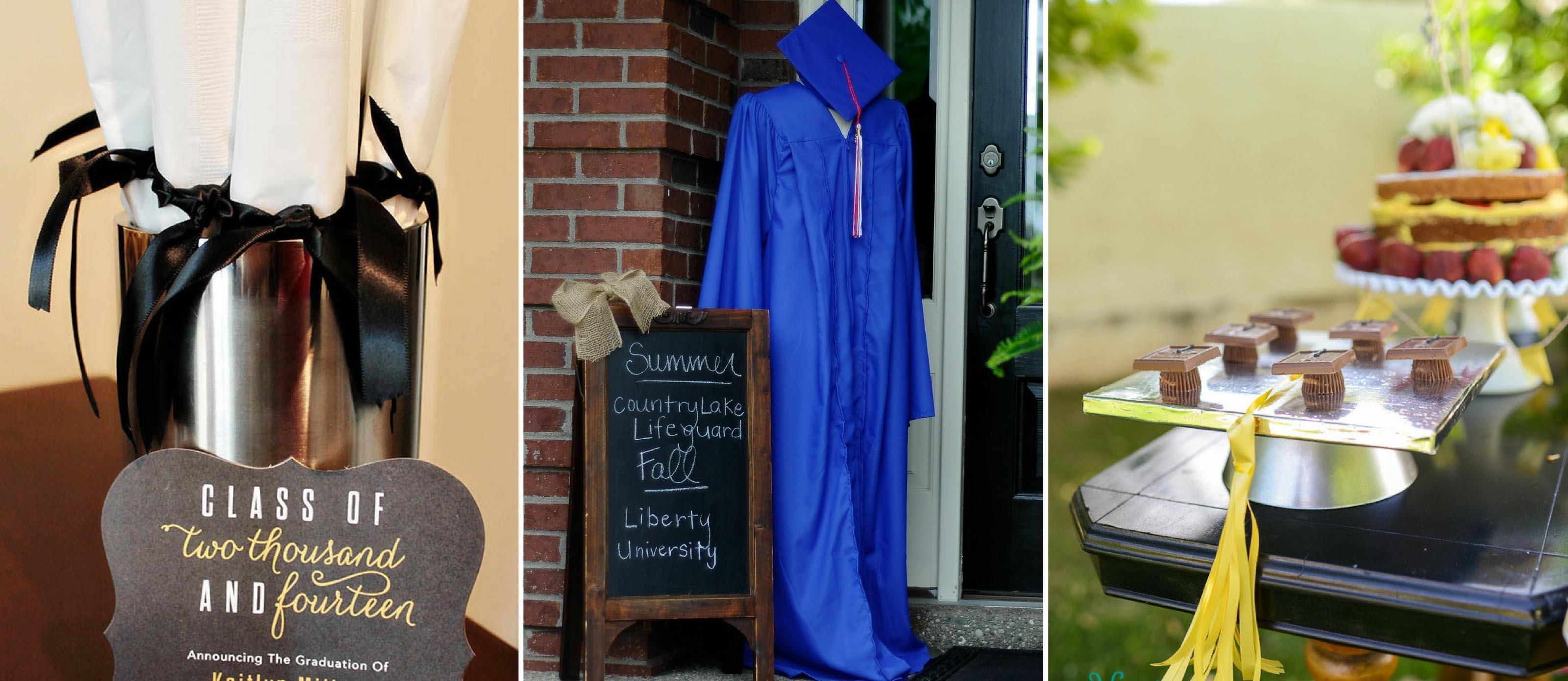 16 Easy Graduation Party Ideas