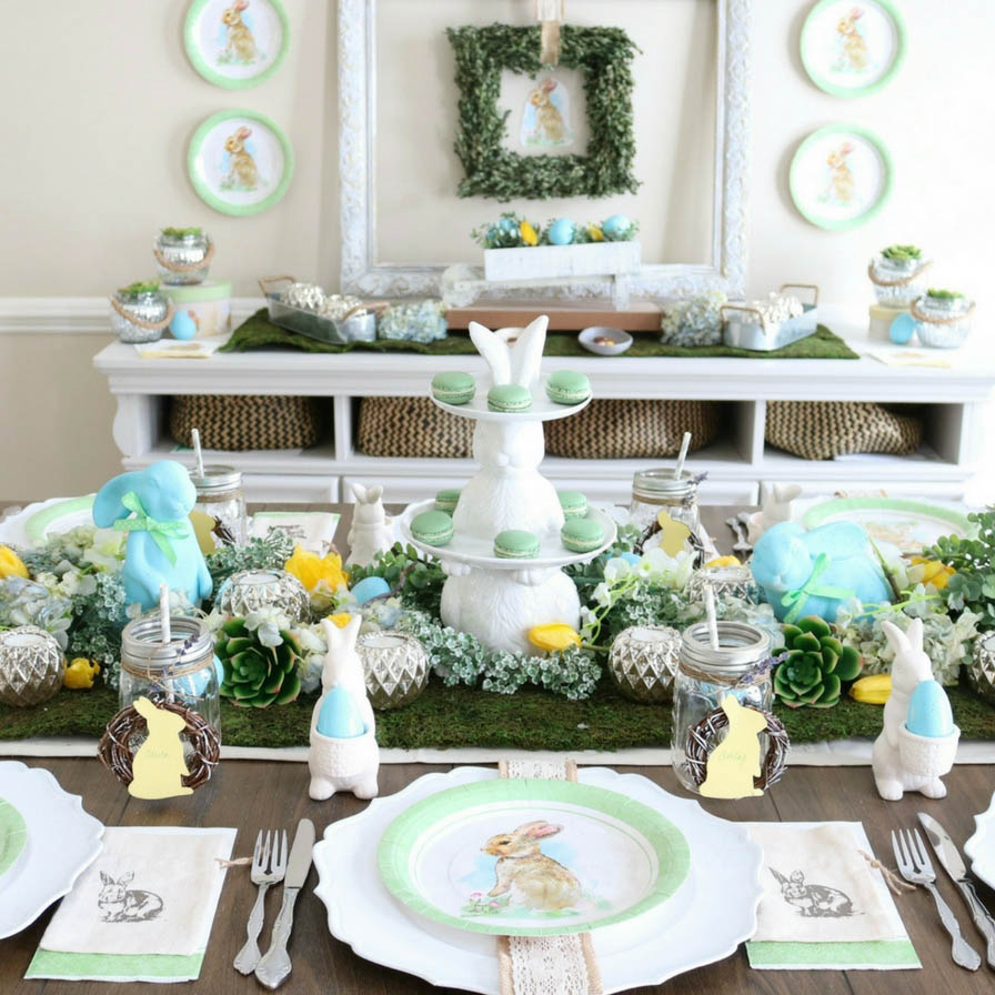 March 2019 - Modern Farmhouse Easter Brunch
