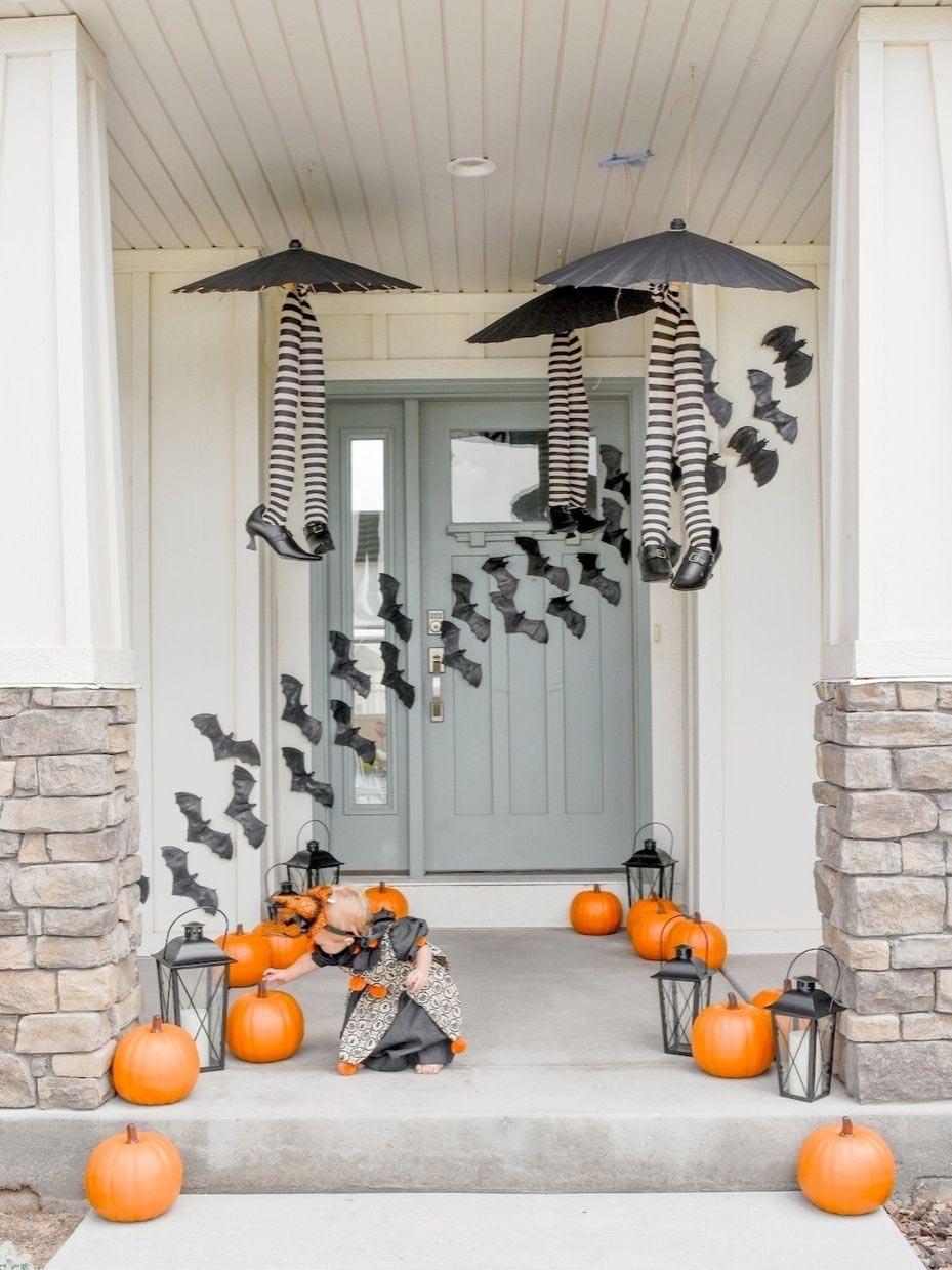 Cutesy Halloween Front Porch Ideas