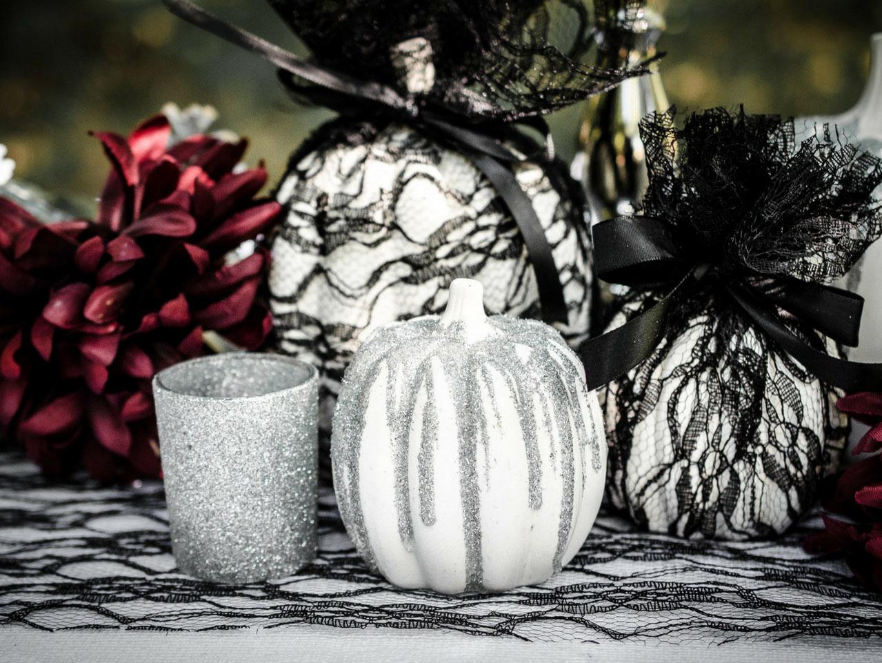 A Dark and Dreamy Halloween Wedding Idea