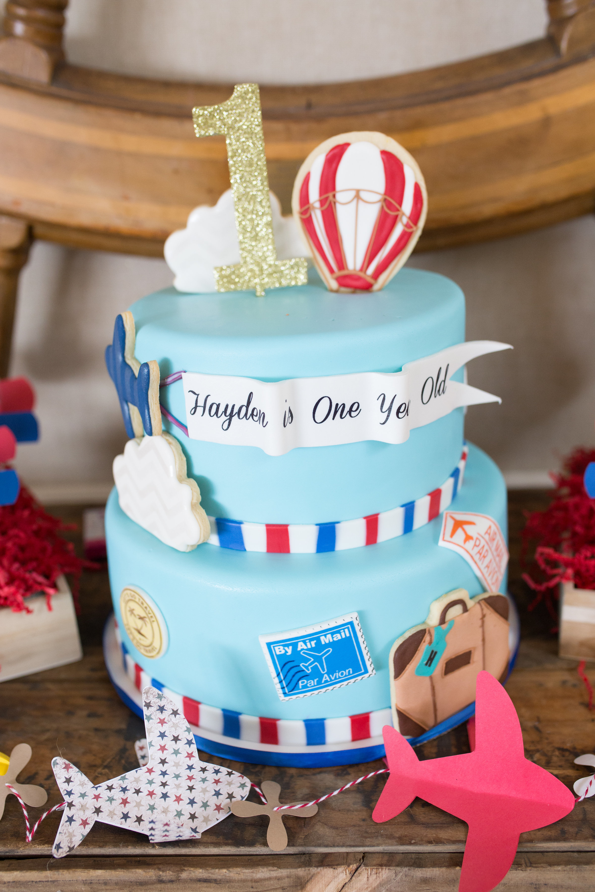 Travel Themed First Birthday Party