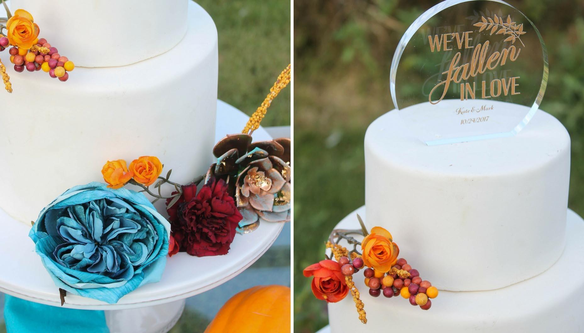 Teal And Orange Autumn Wedding Fun365