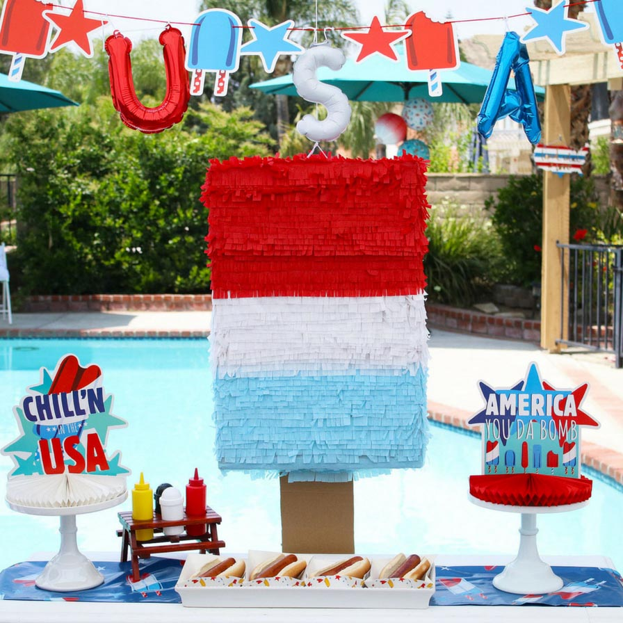 July 2019 - Patriotic Popsicle® Party