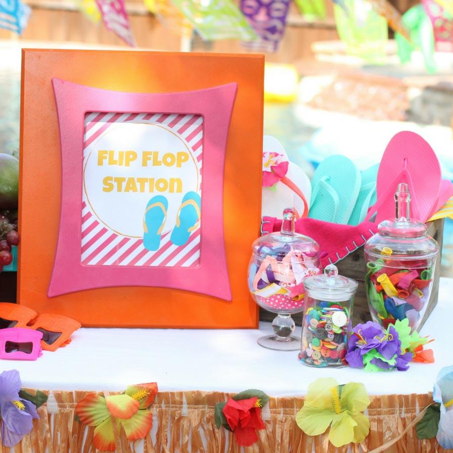 Mini Flip Flop Tote Bags