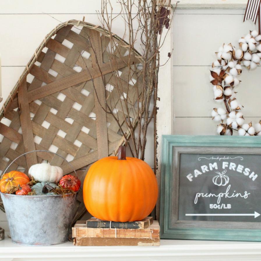 September 2019 - DIY Fall Farmhouse Bucket