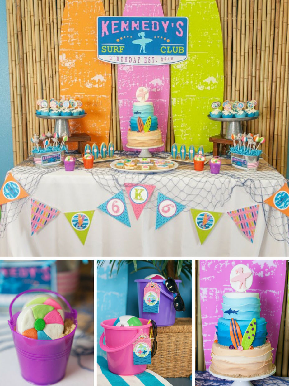 top 10 summer birthday themes for kids