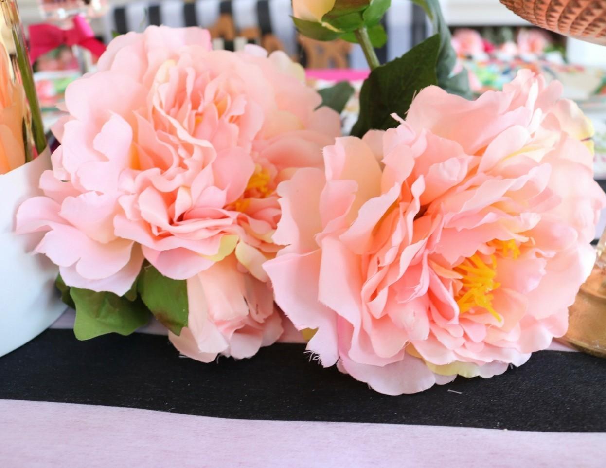 Style a Floral Bridal Shower Centerpiece