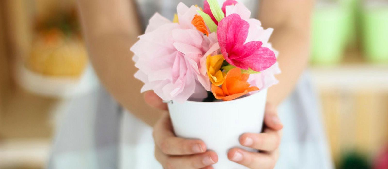 Pretty paper flower centerpieces mightylinksfo