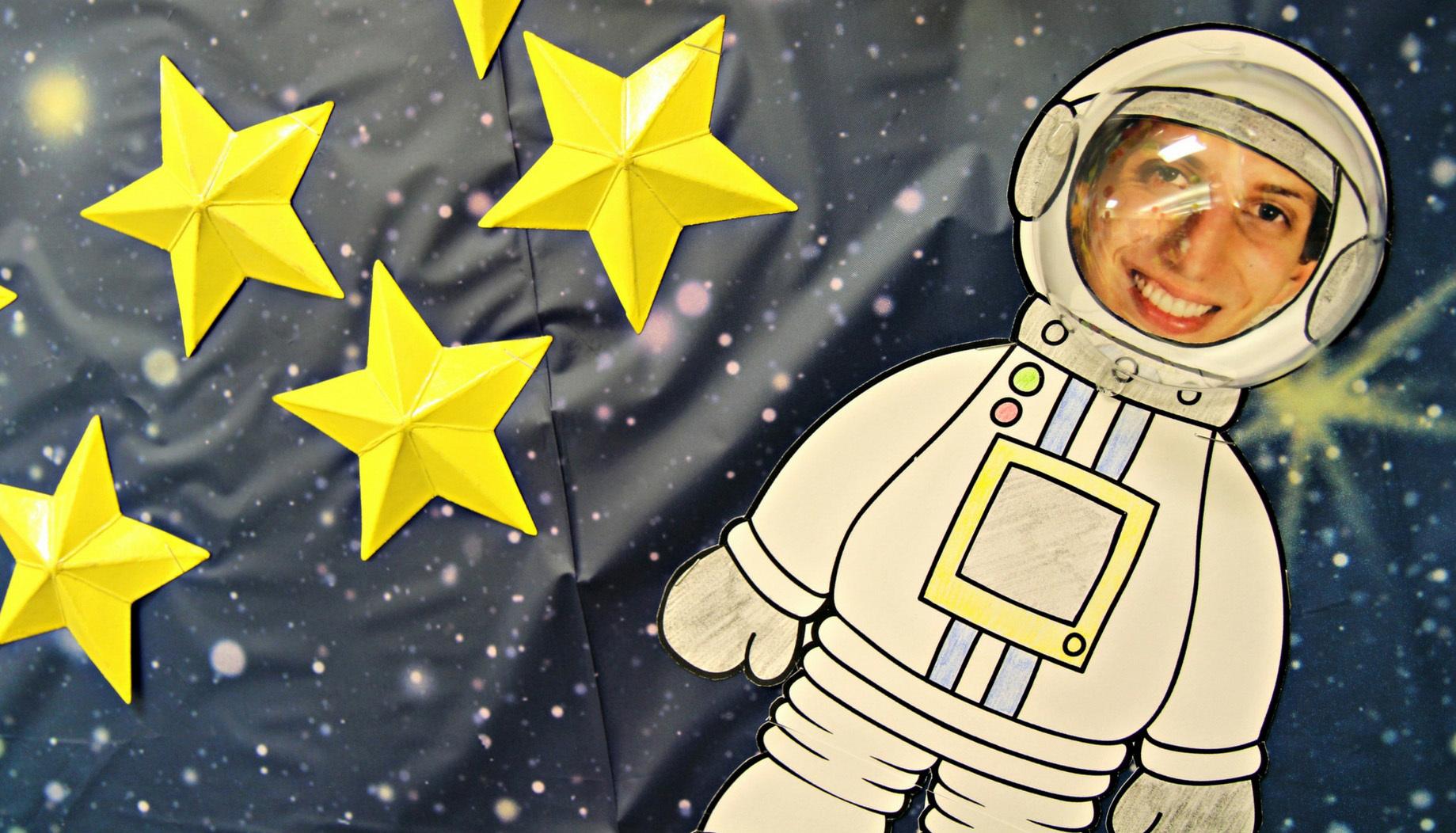 Space Themed Library Bulletin Board Fun365