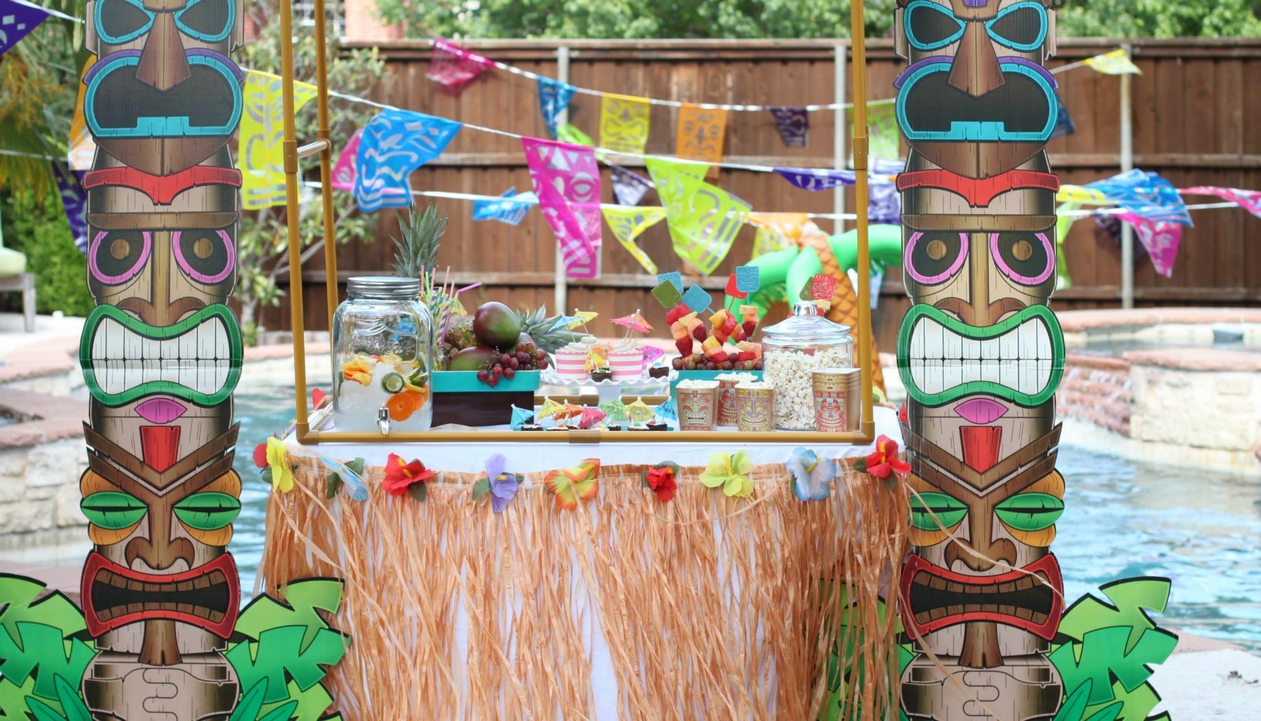 Tween Tiki Time Birthday Party Fun365