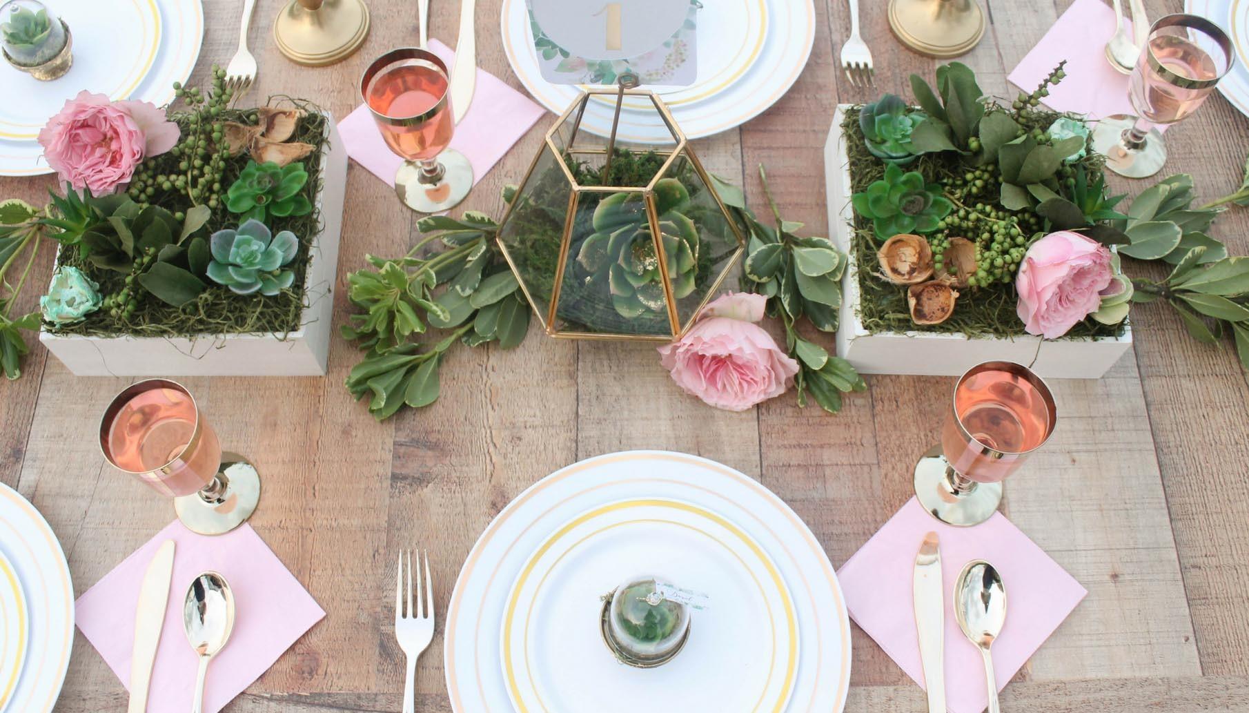 Succulent Wedding Fun365