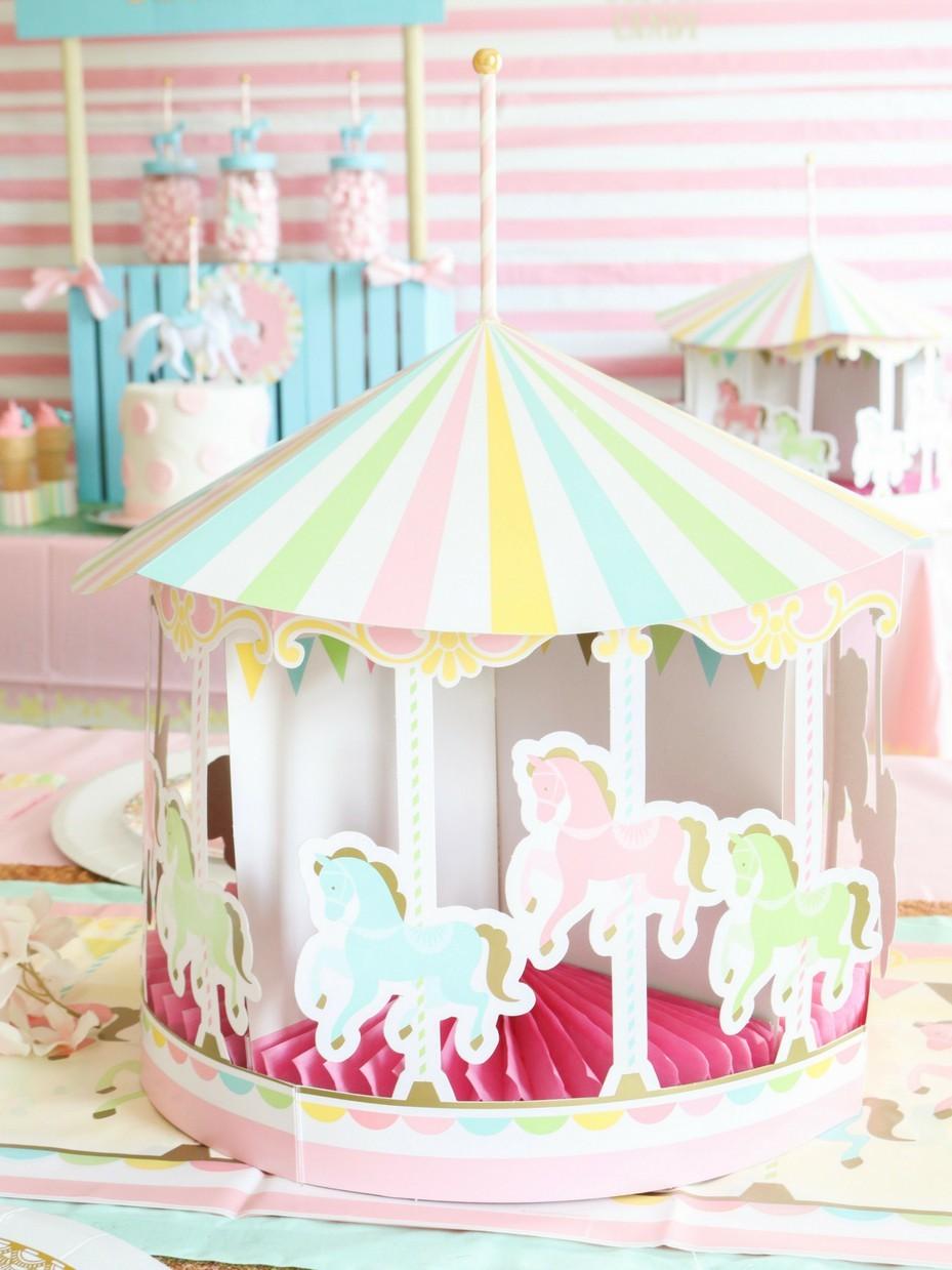 Carousel Baby Shower Fun365