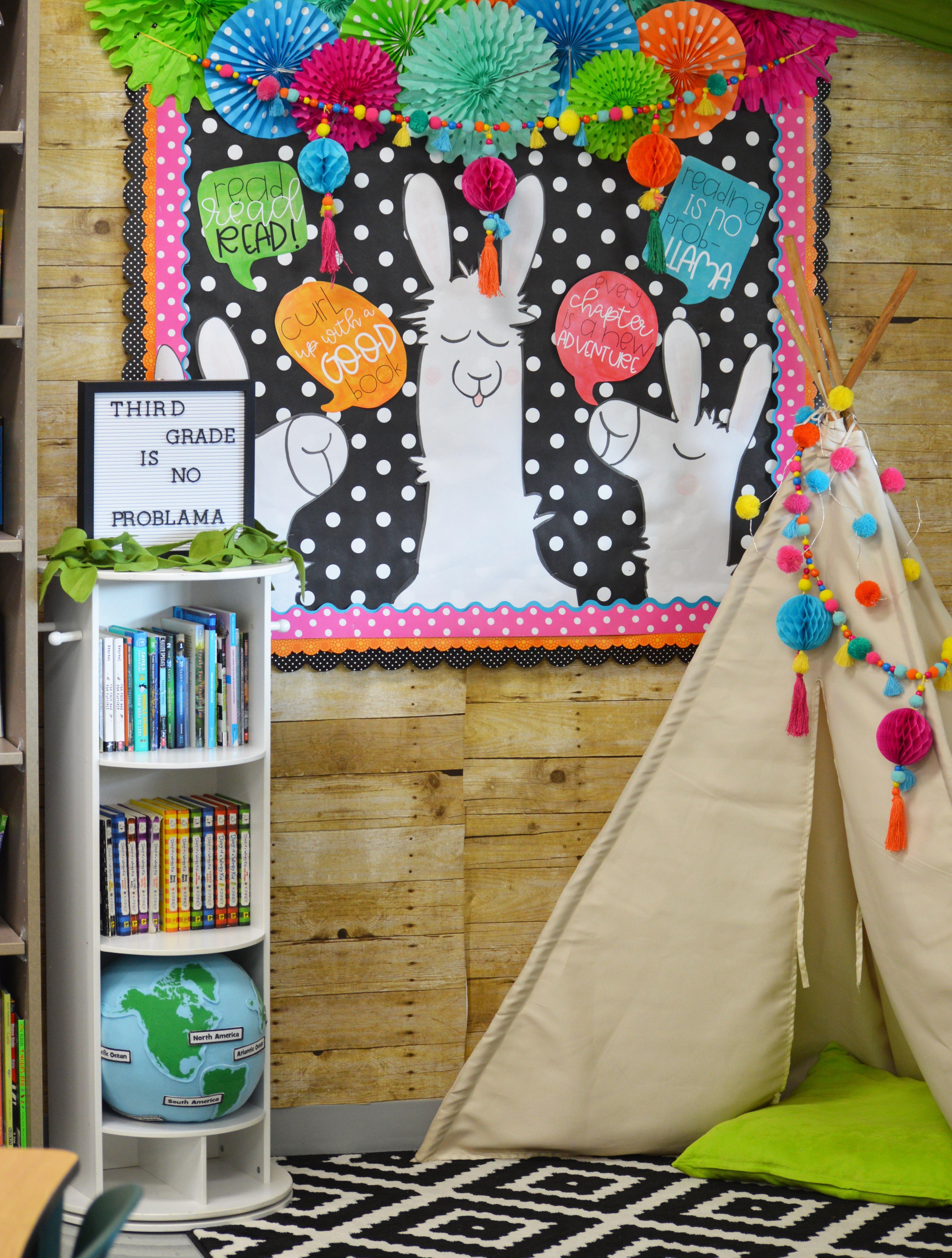 Llama Cactus Themed Classroom Fun365