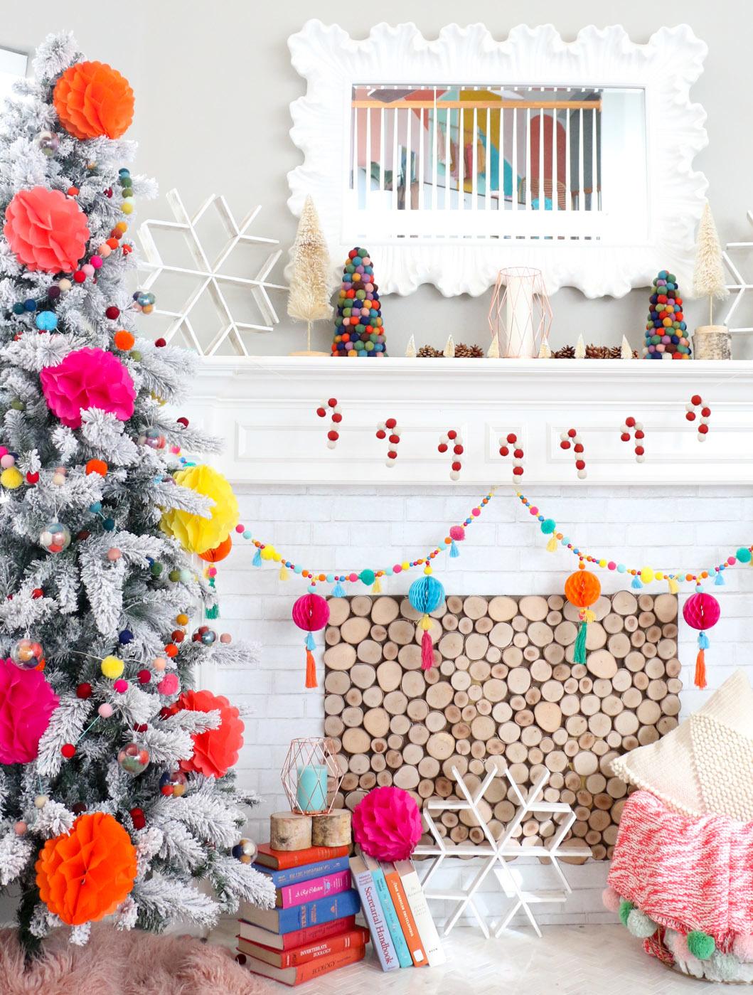 Boho Christmas Mantle Fun365