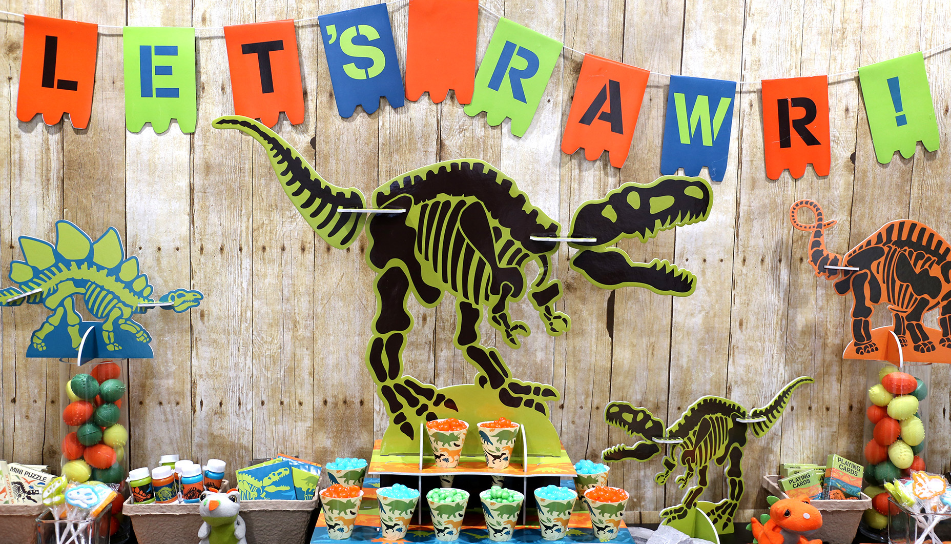 DINOSAUR Dino-Mite LUNCH NAPKINS 16 ~ Birthday Party Supplies Large Dinner