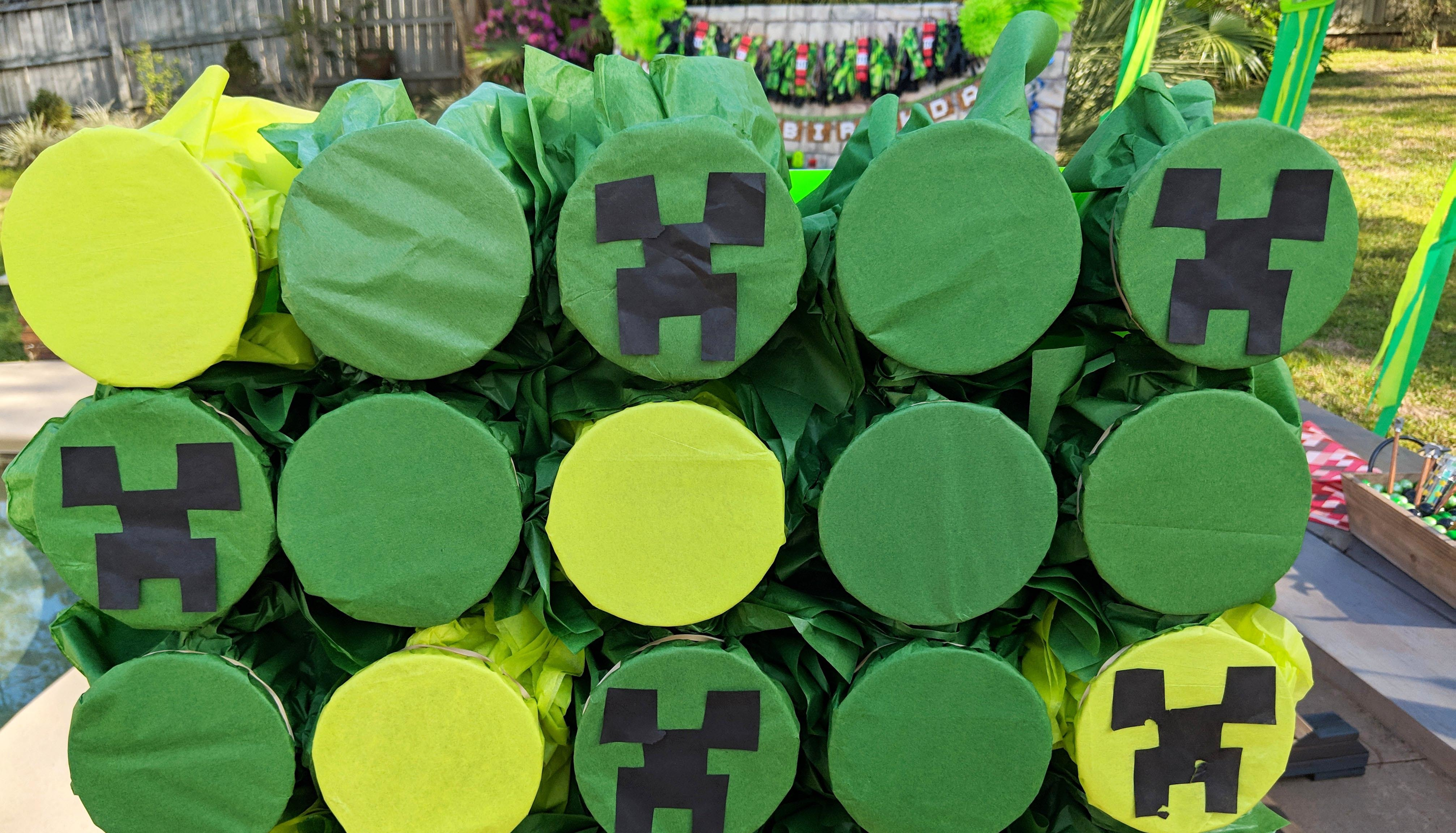 Minecraft Decoration Ideas For Birthday from cl-drupal.orientaltrading.com