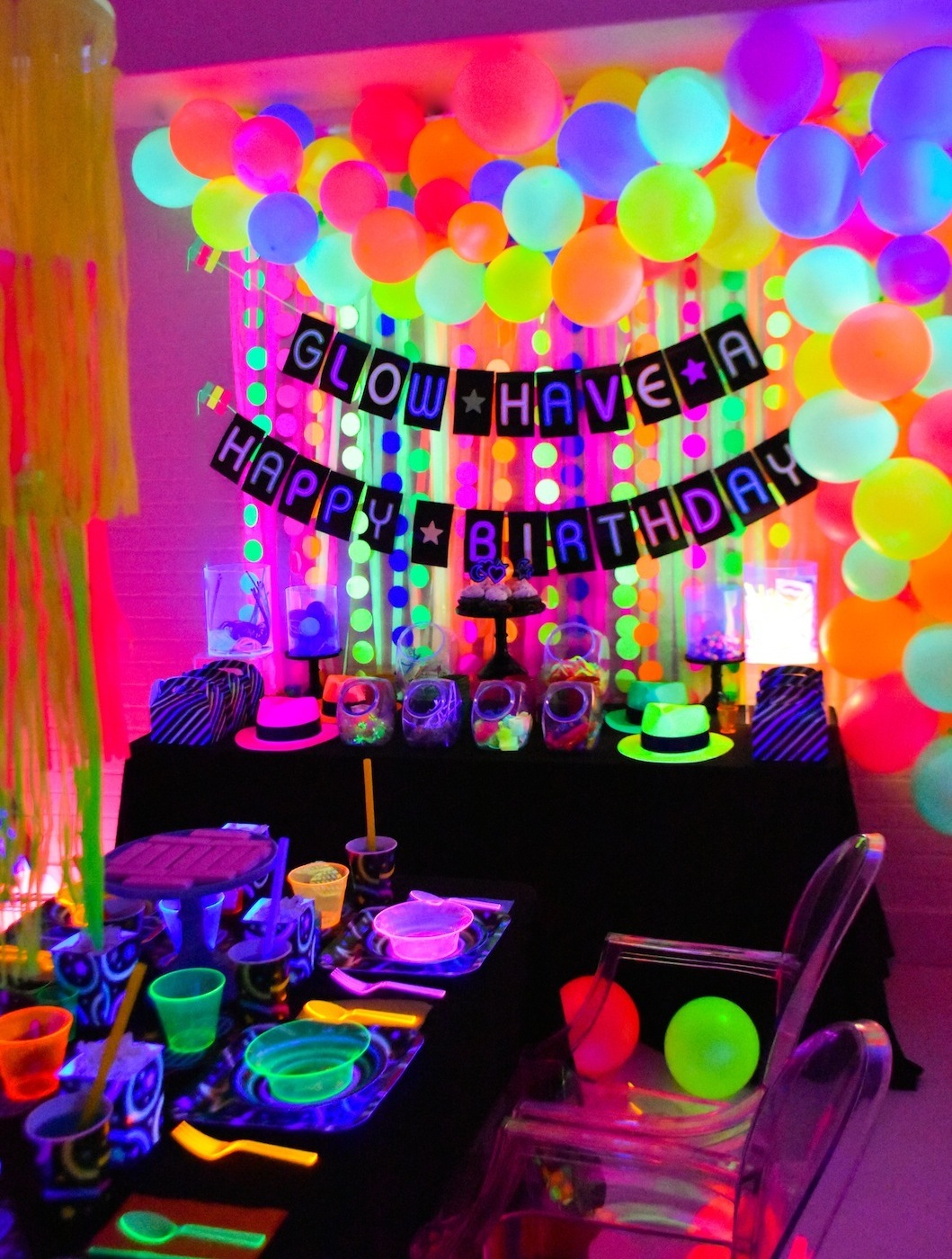Glow In The Dark Party Ideas Fun365