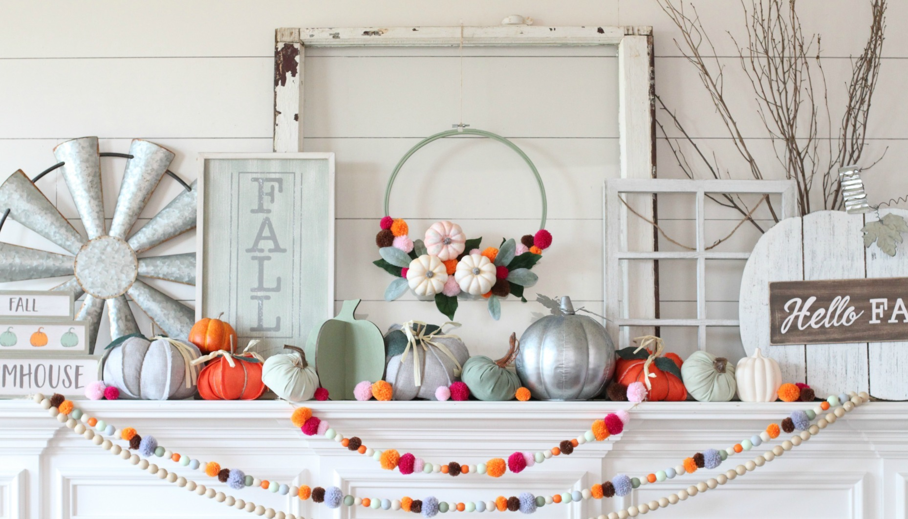 Easy Ways To Take Your Mantel From Fall To Halloween Fun365