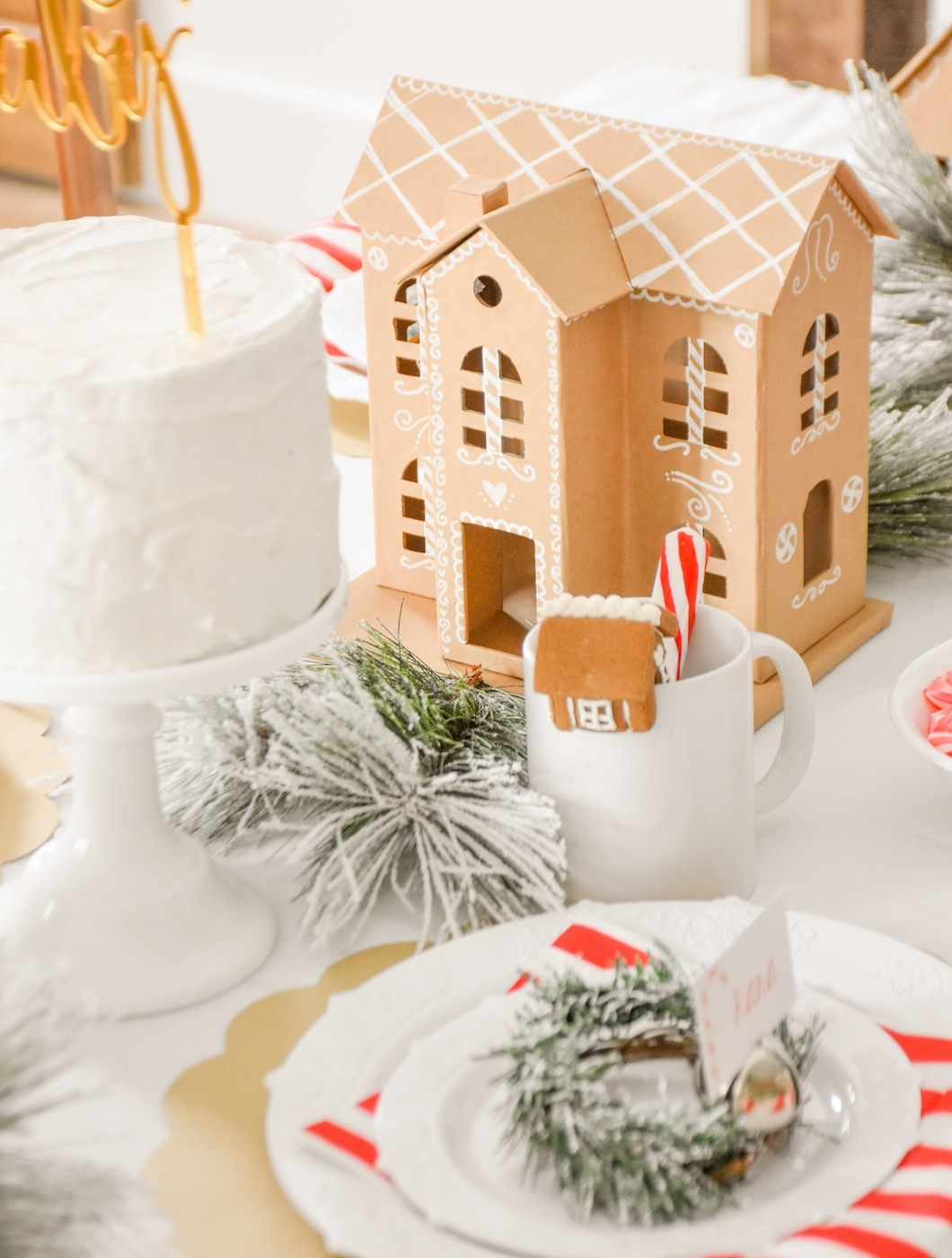 Gingerbread House Holiday Baby Shower