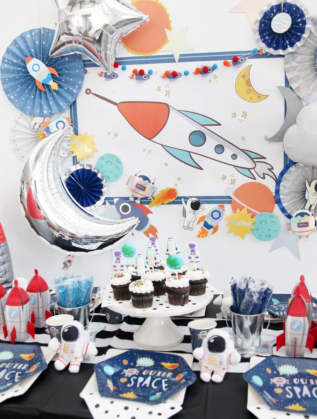 My Minds Eye Rocket Happy Birthday Banner