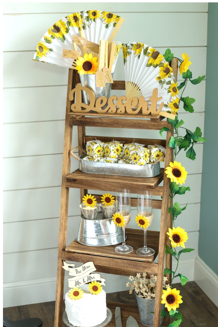 Rustic Sunflower Wedding With Neutrals And Cheery Yellow Sunflowers Fun365