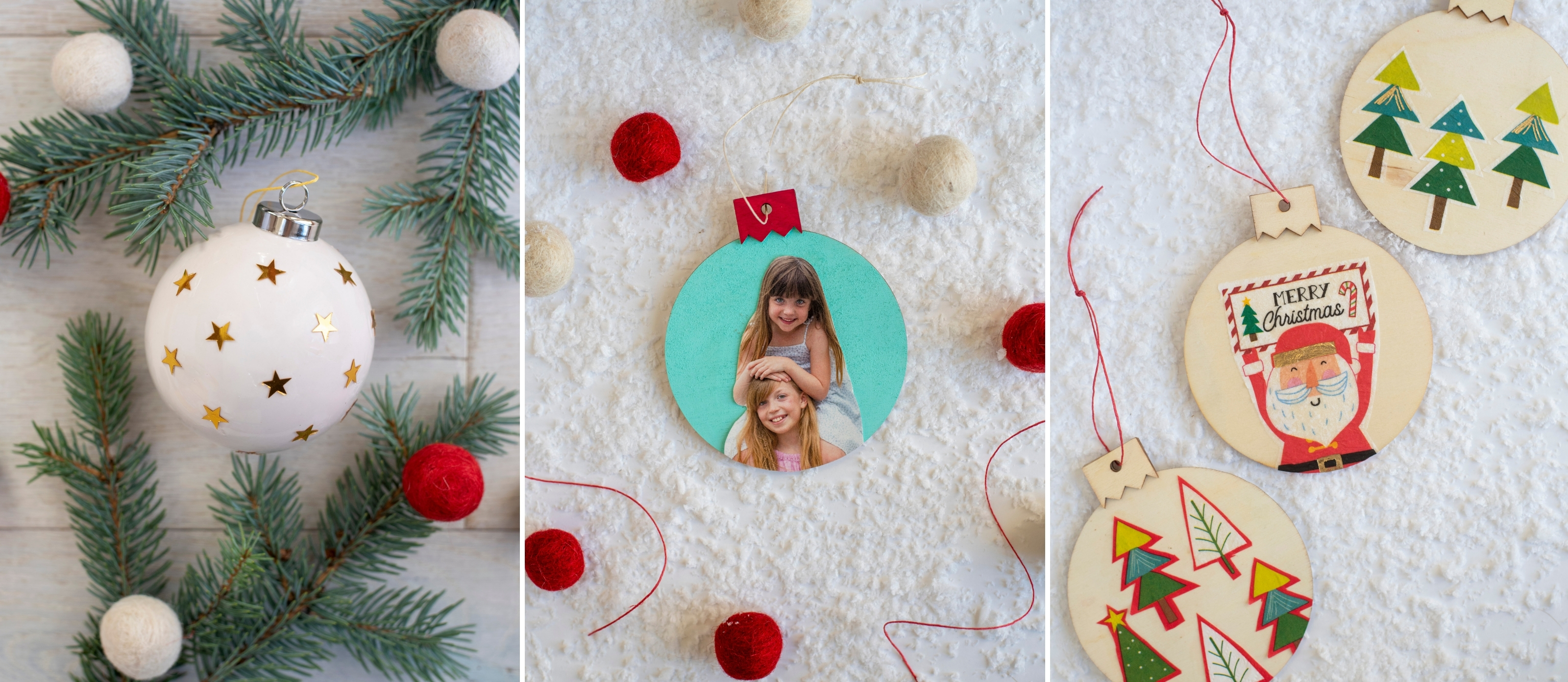 5 Ways To Mod Podge Christmas Ornaments Fun365