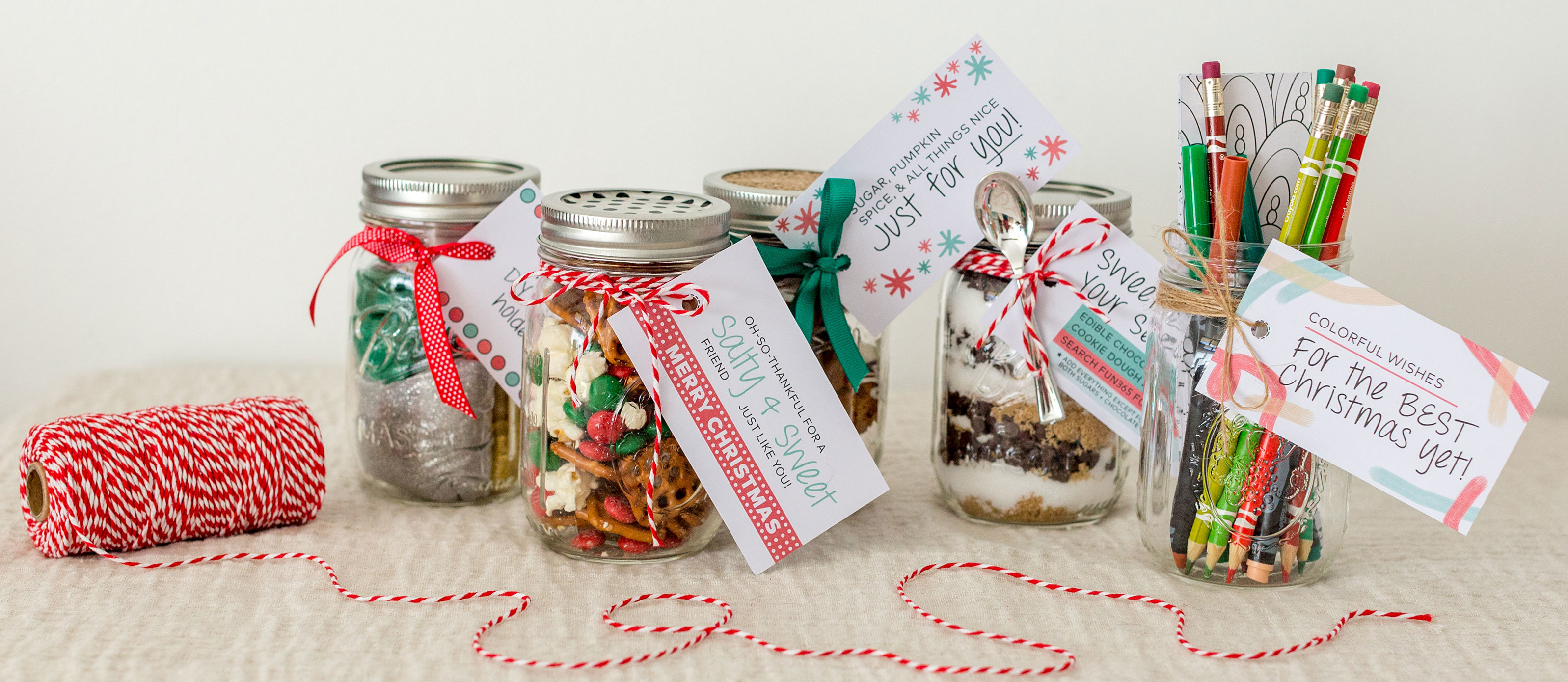 5 Mason Jar Food And Craft Gift Ideas For Christmas Fun365