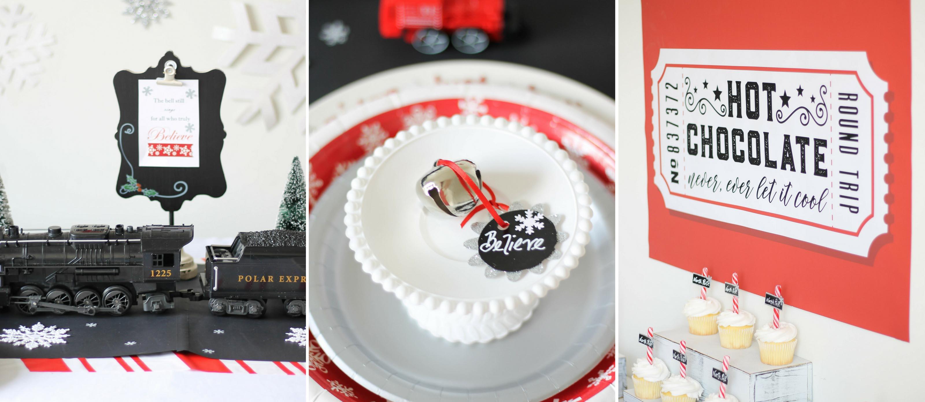Fabulous Magical Polar Express Party Ideas Fun365 Funny Birthday Cards Online Elaedamsfinfo