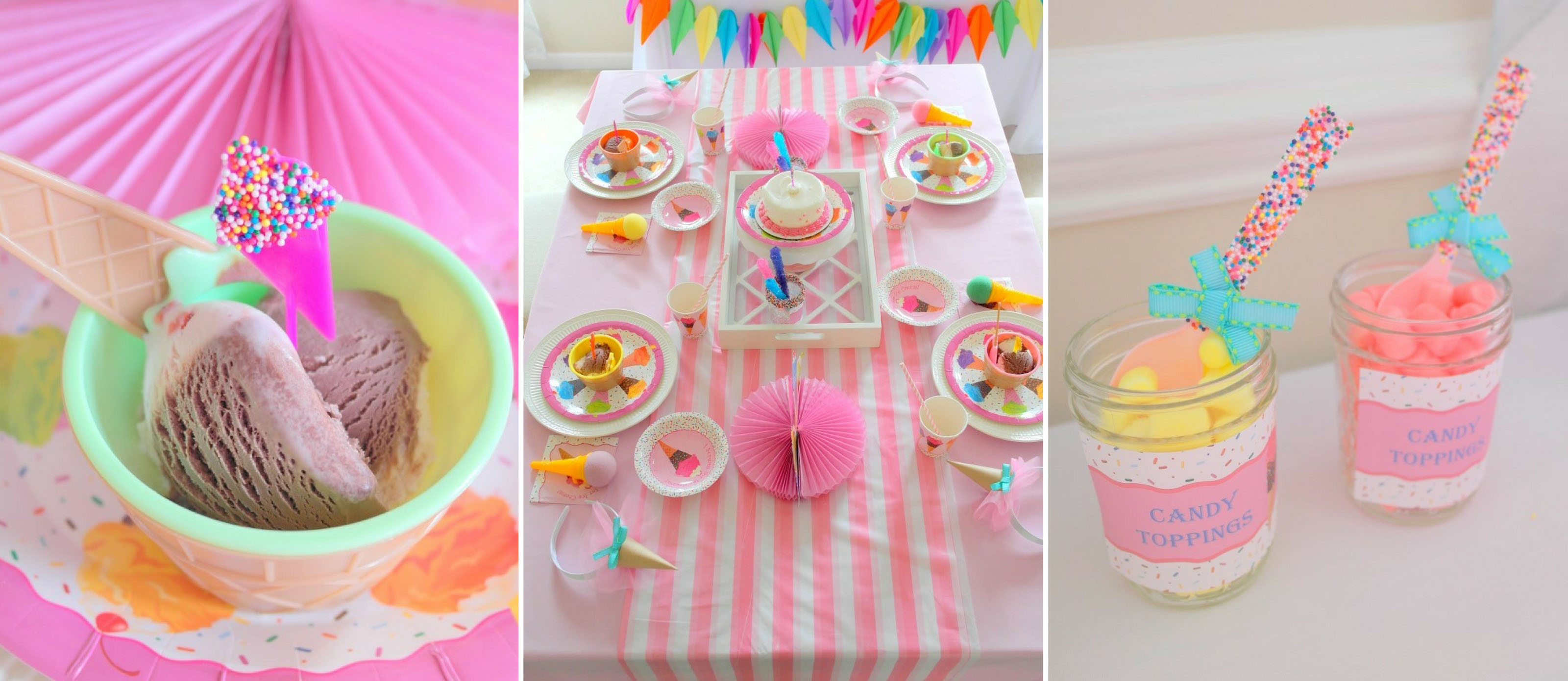 12 ~Birthday Party Supplies Pink FABULOUS CELEBRATION HANGING SWIRL DECORATIONS