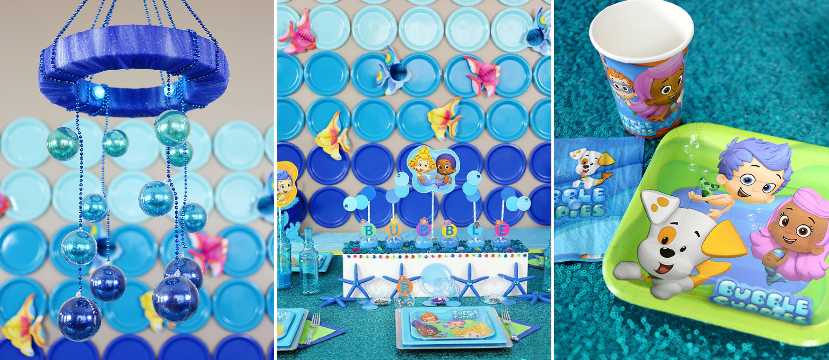Terrific Bubble Guppies Diy Party Ideas Fun365 Funny Birthday Cards Online Hetedamsfinfo