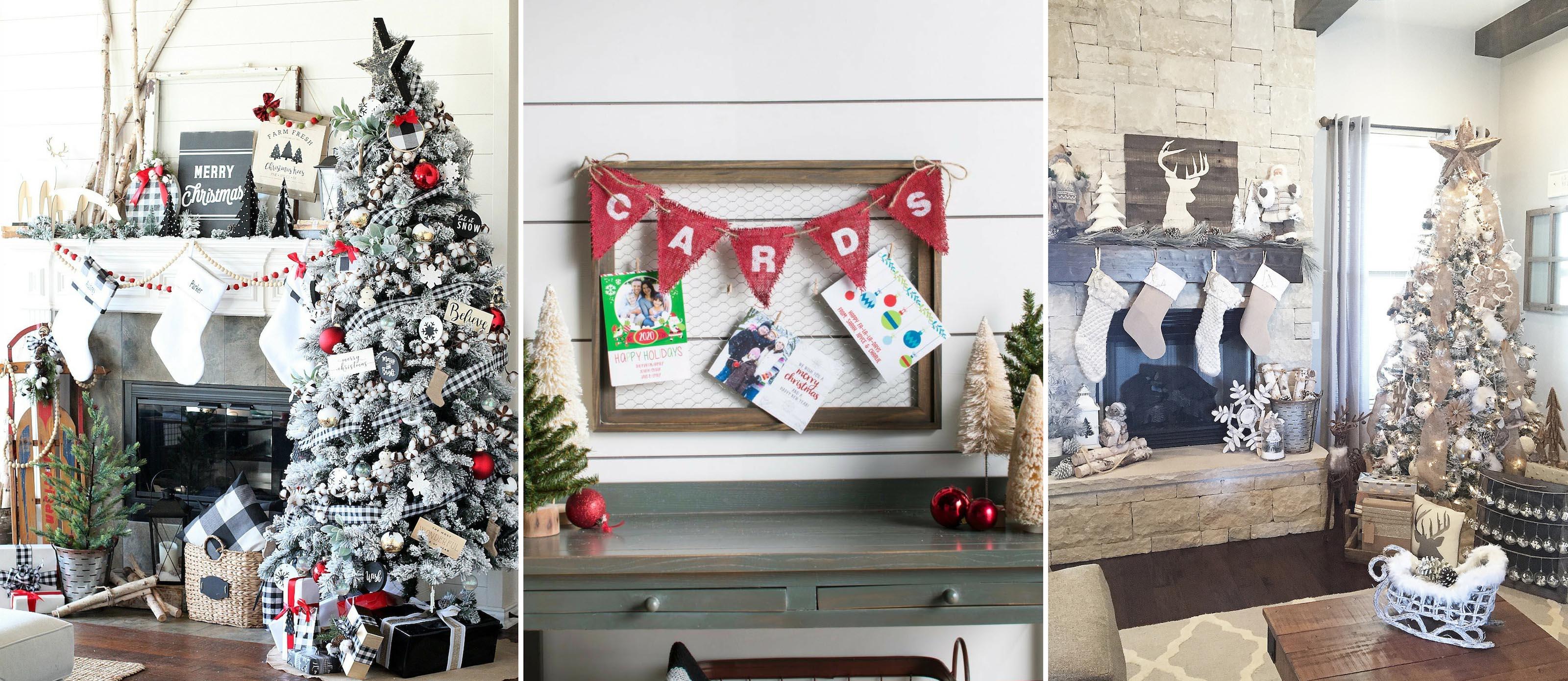 Christmas Farmhouse Decorating Ideas Joanna Gaines Would