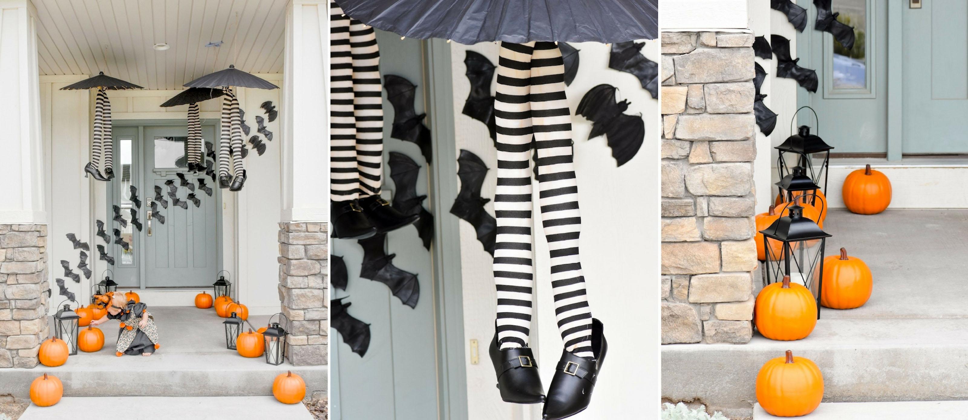 Cutesy Halloween Front Porch Ideas  Fun28