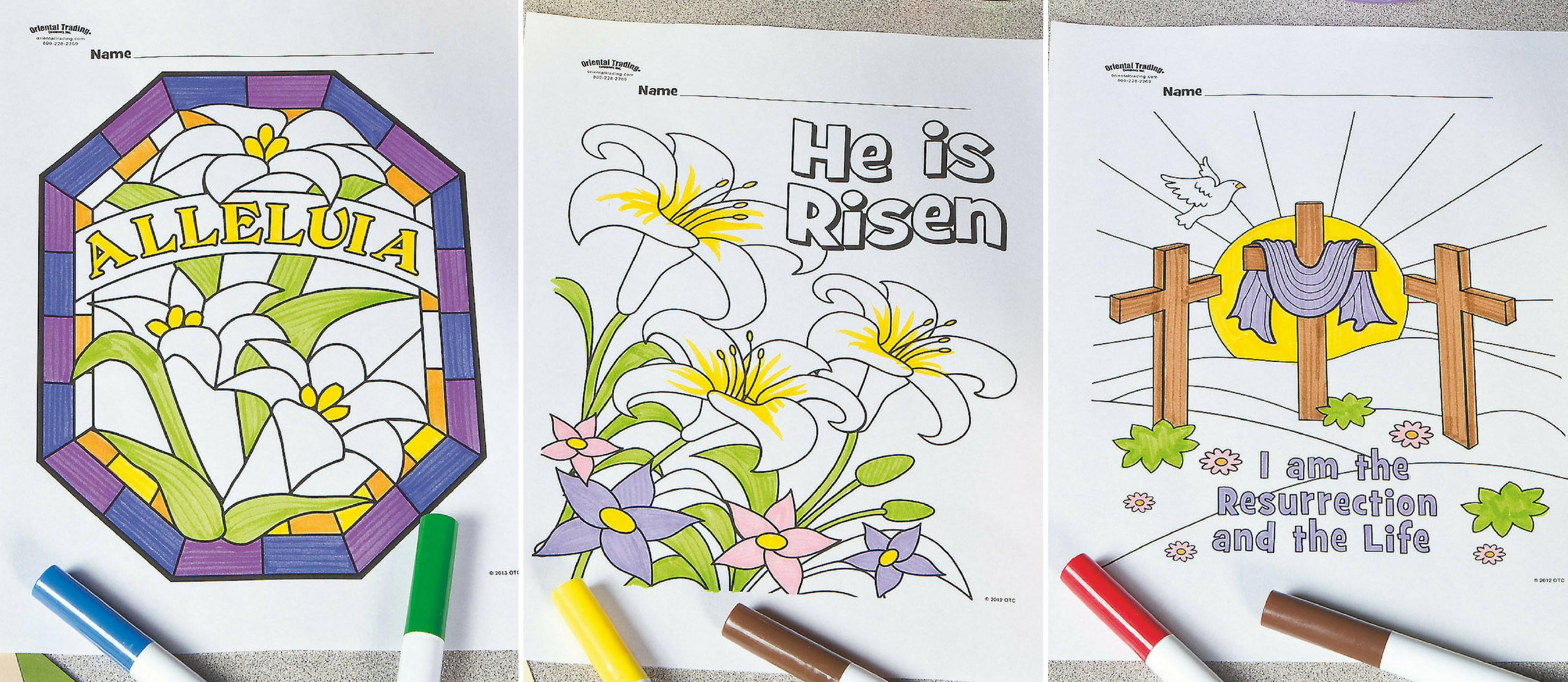 - Free Easter Sunday School Coloring Pages Fun365