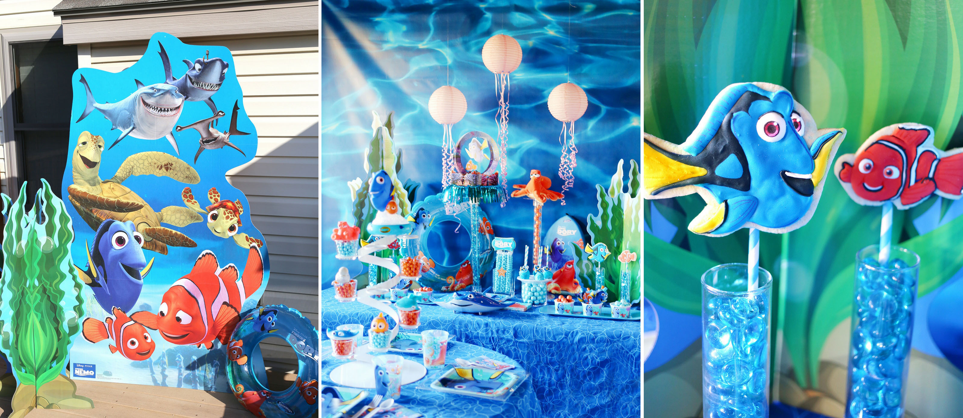 Finding Dory Inspired Pool Party Fun365