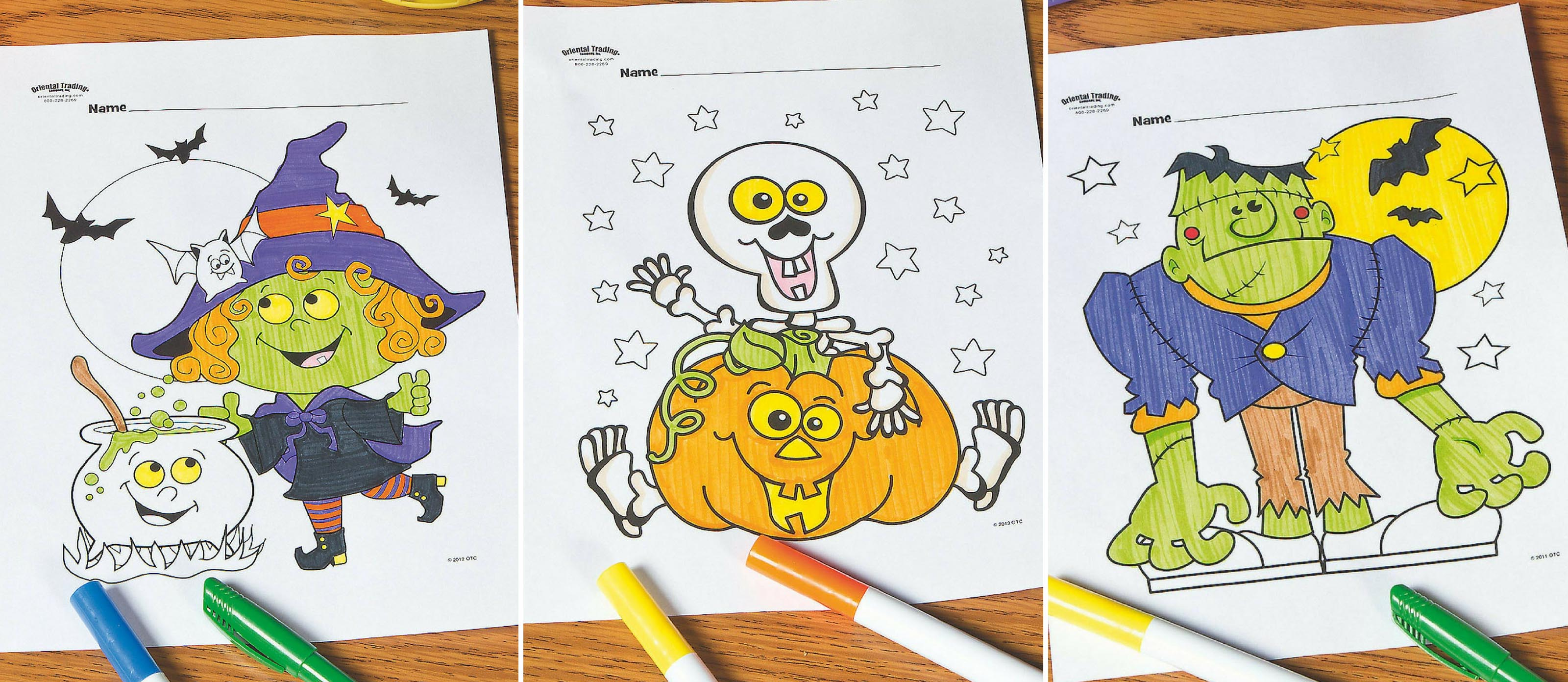 Free & Printable Halloween Coloring Pages (Updated 2020)✅ | 1391x3200