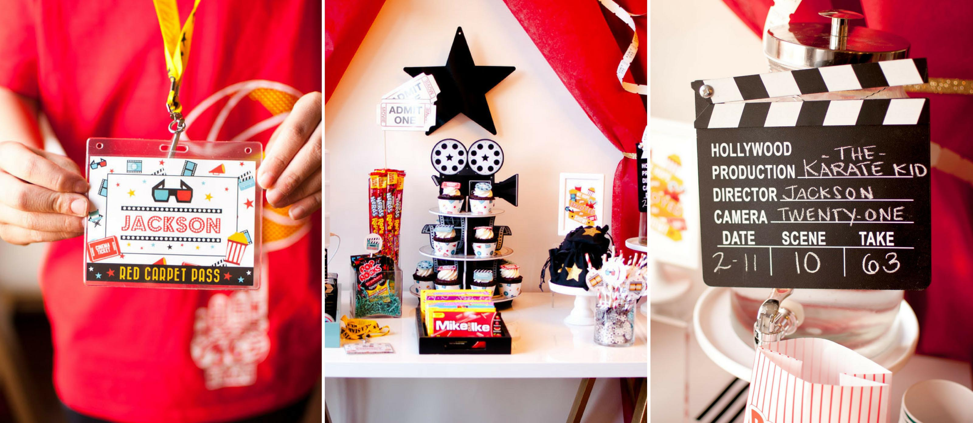 Movie Theater Birthday Party Ideas Fun365