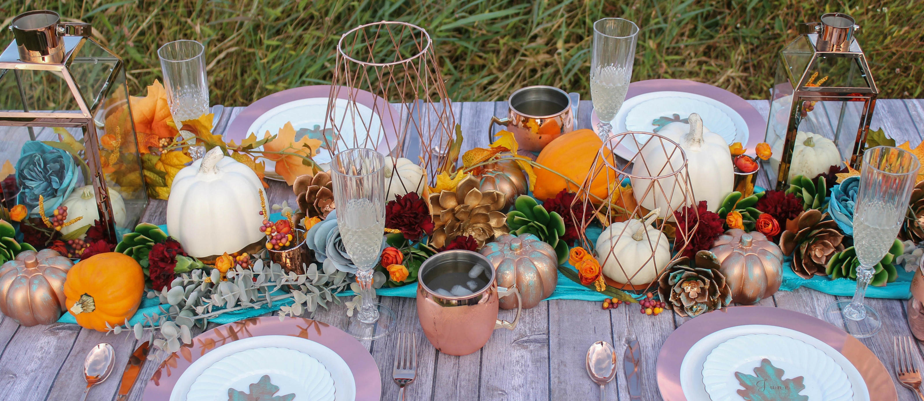 Teal And Orange Autumn Wedding Fun365