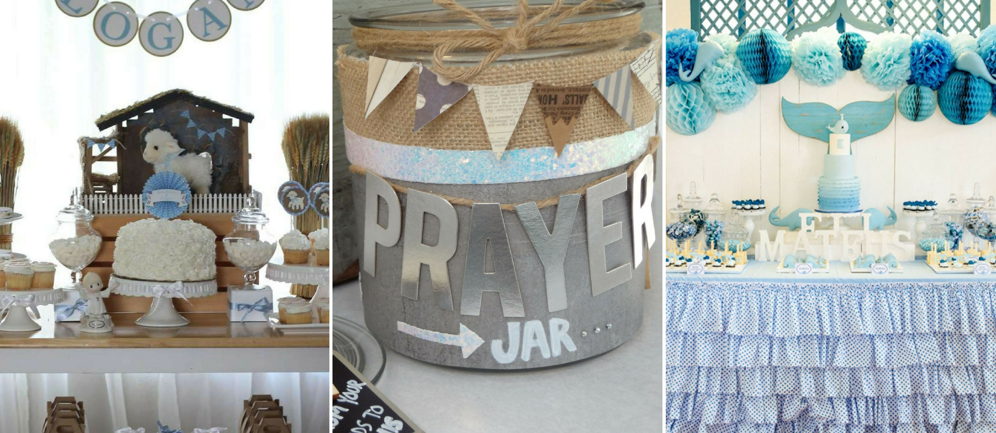 Diy Baptism And Christening Party Ideas