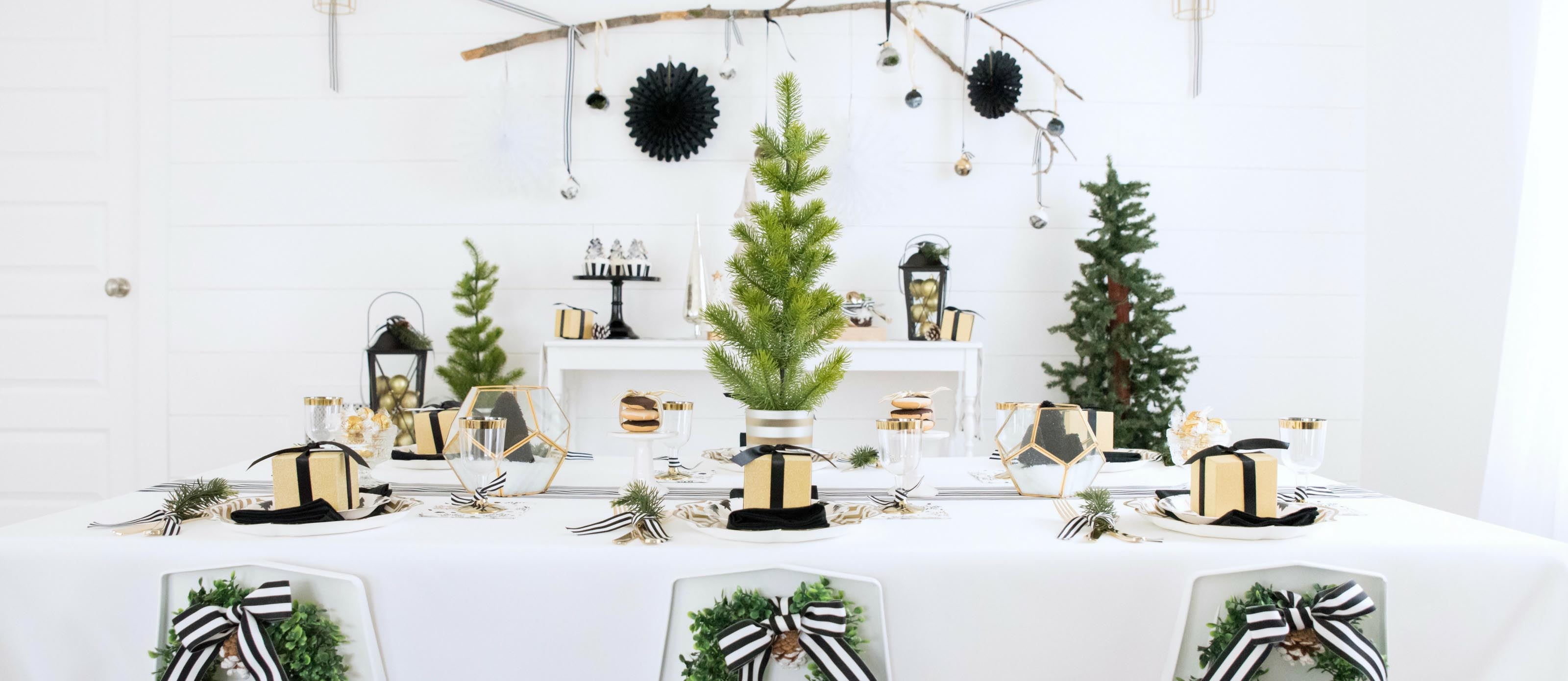 Modern Farmhouse Christmas Party Fun365