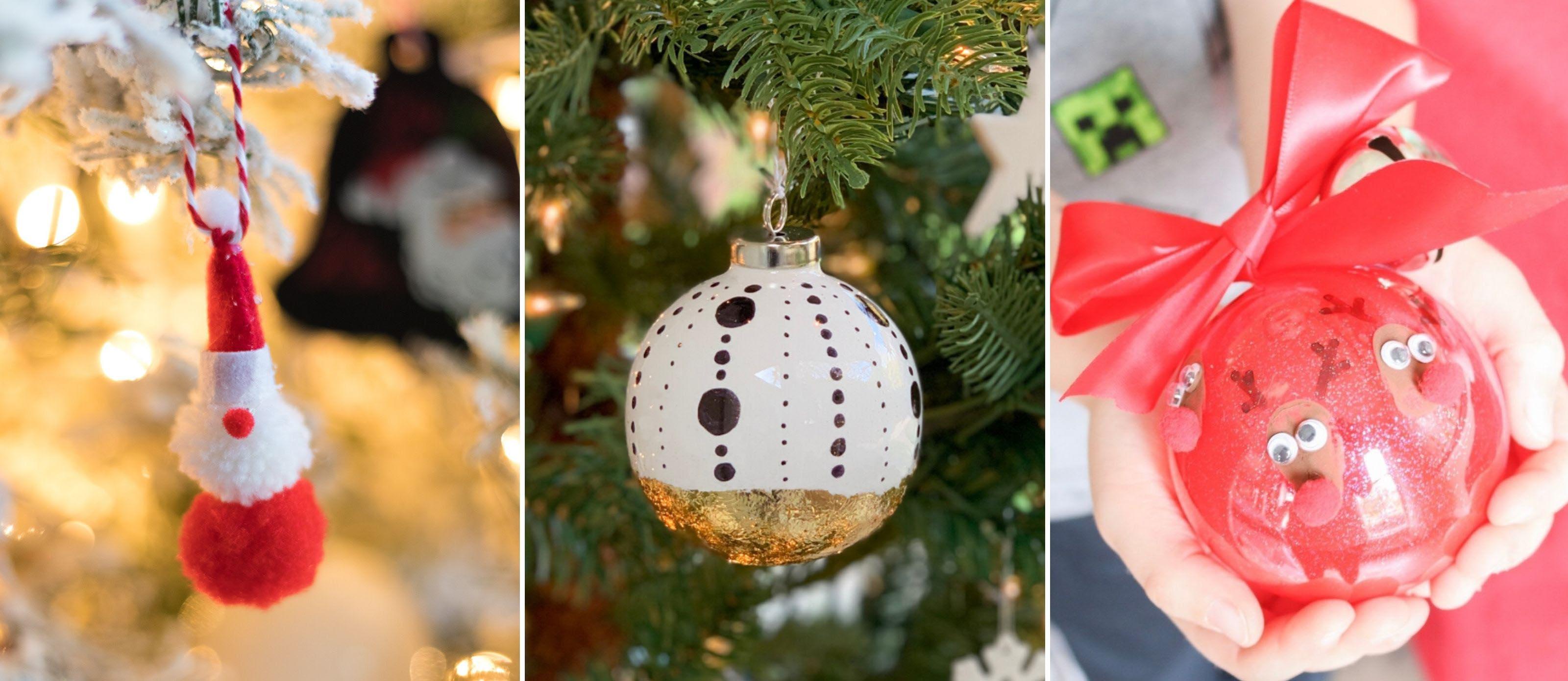 20 Festive Diy Ornaments Ideas Fun365