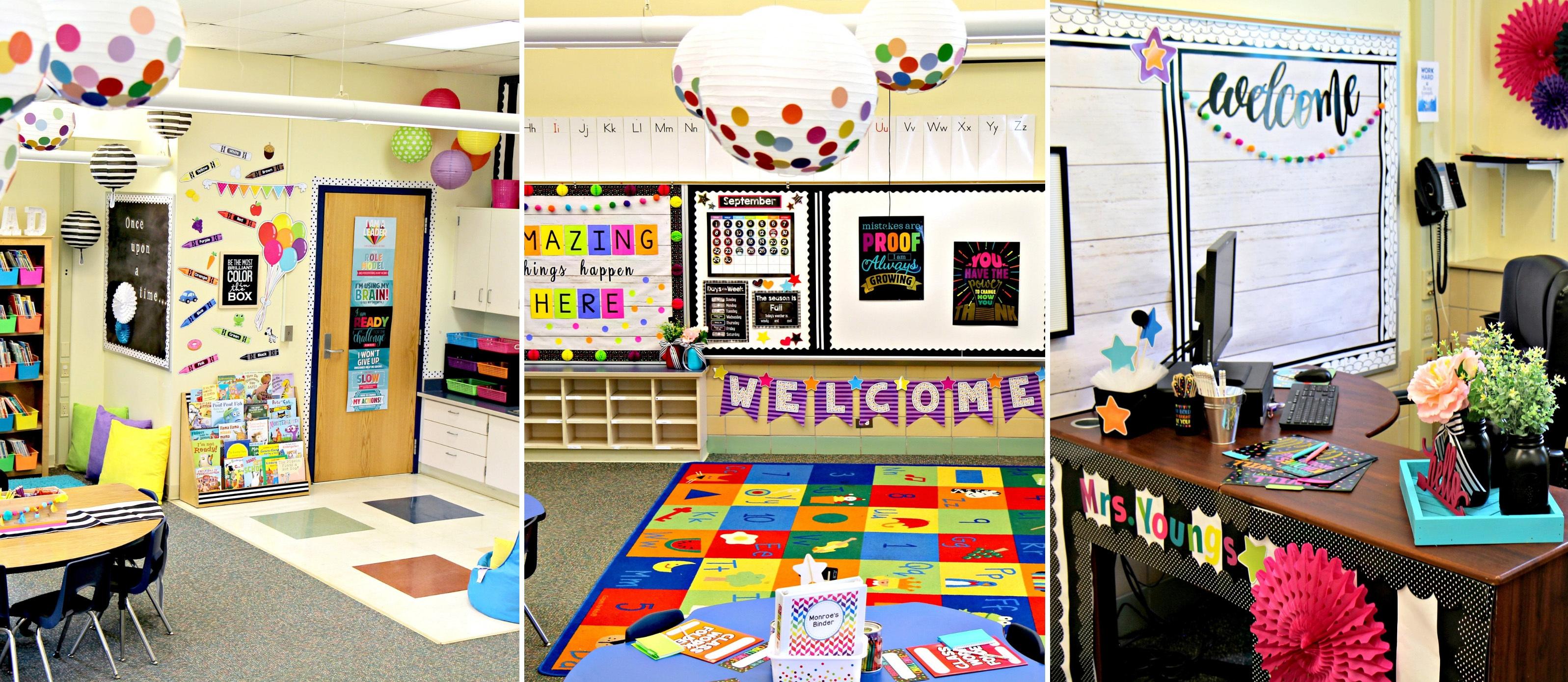 Confetti Classroom Theme Reveal Fun365