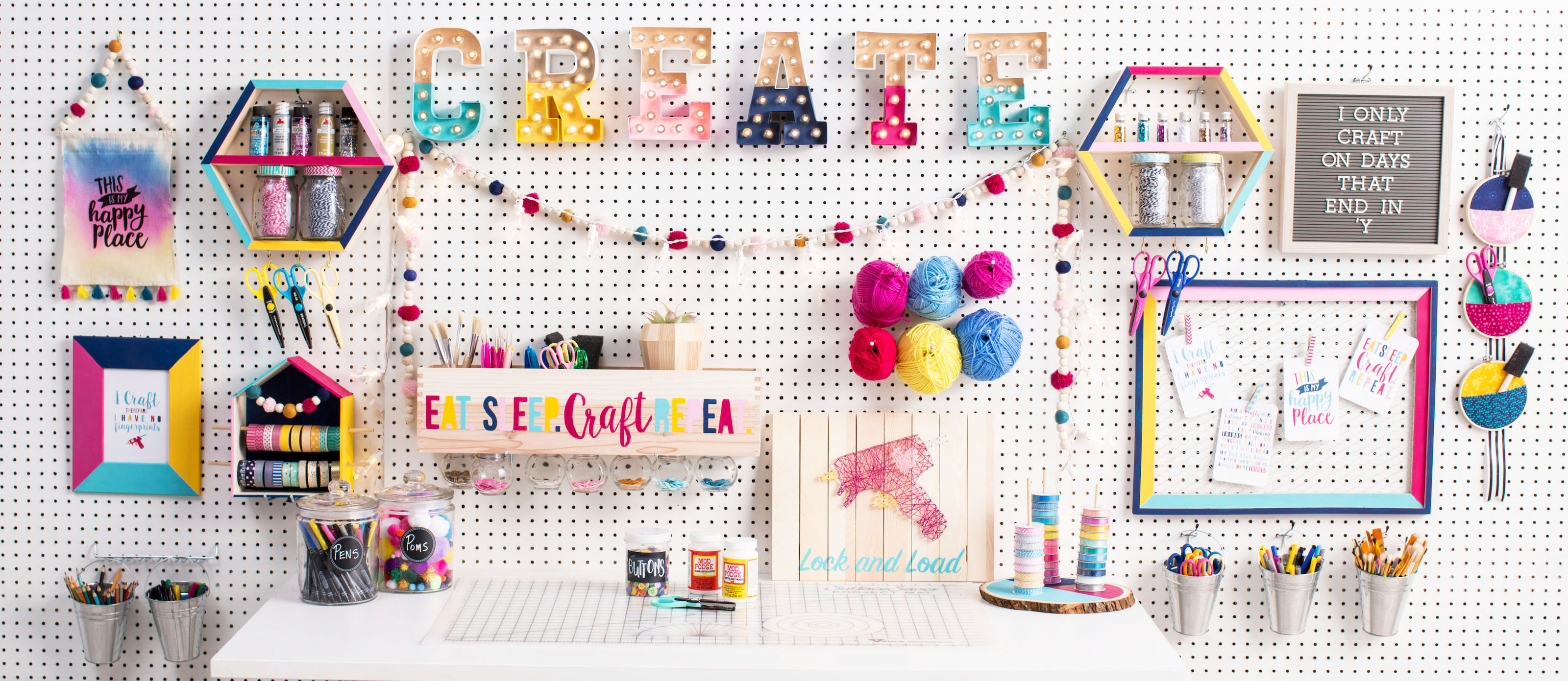 Diy Craft Room Decor Ideas Fun365