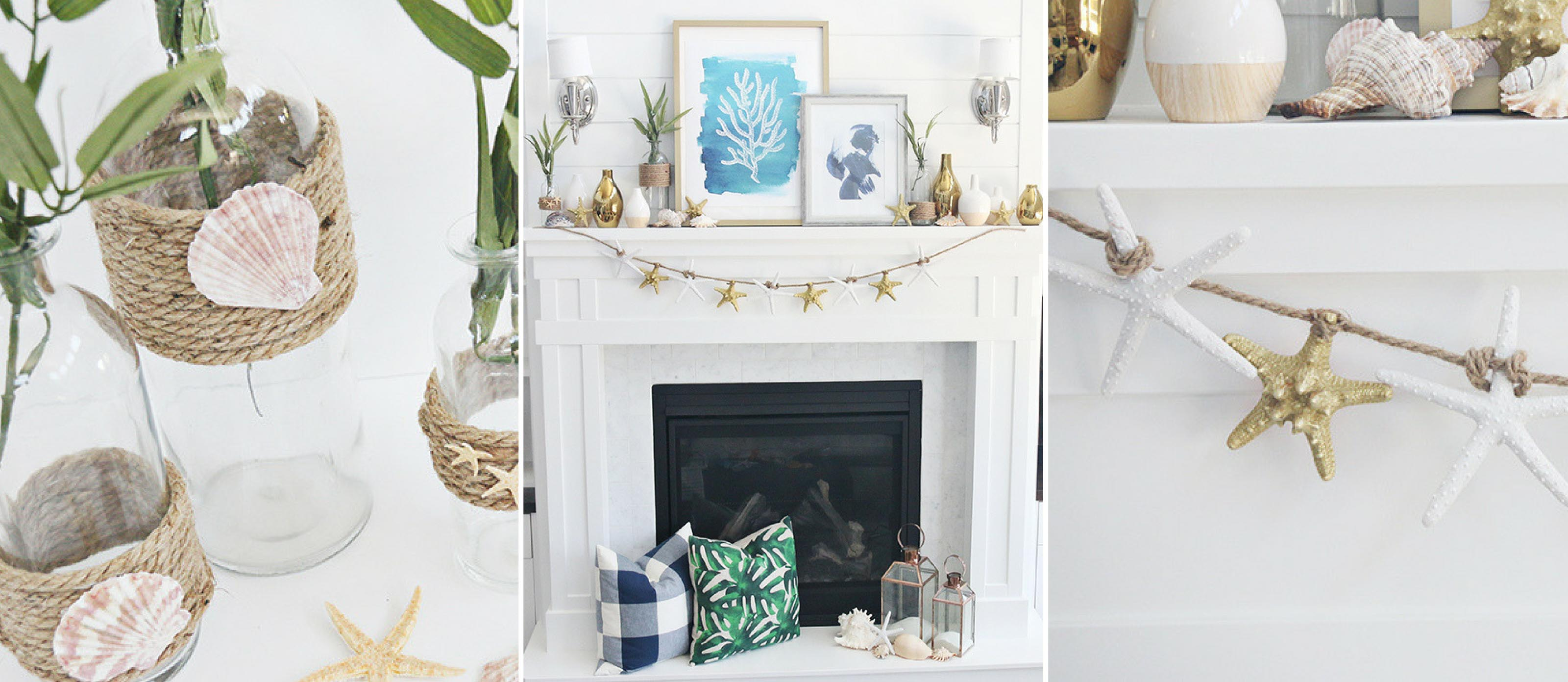 Diy Beach Mantle Decor Fun365