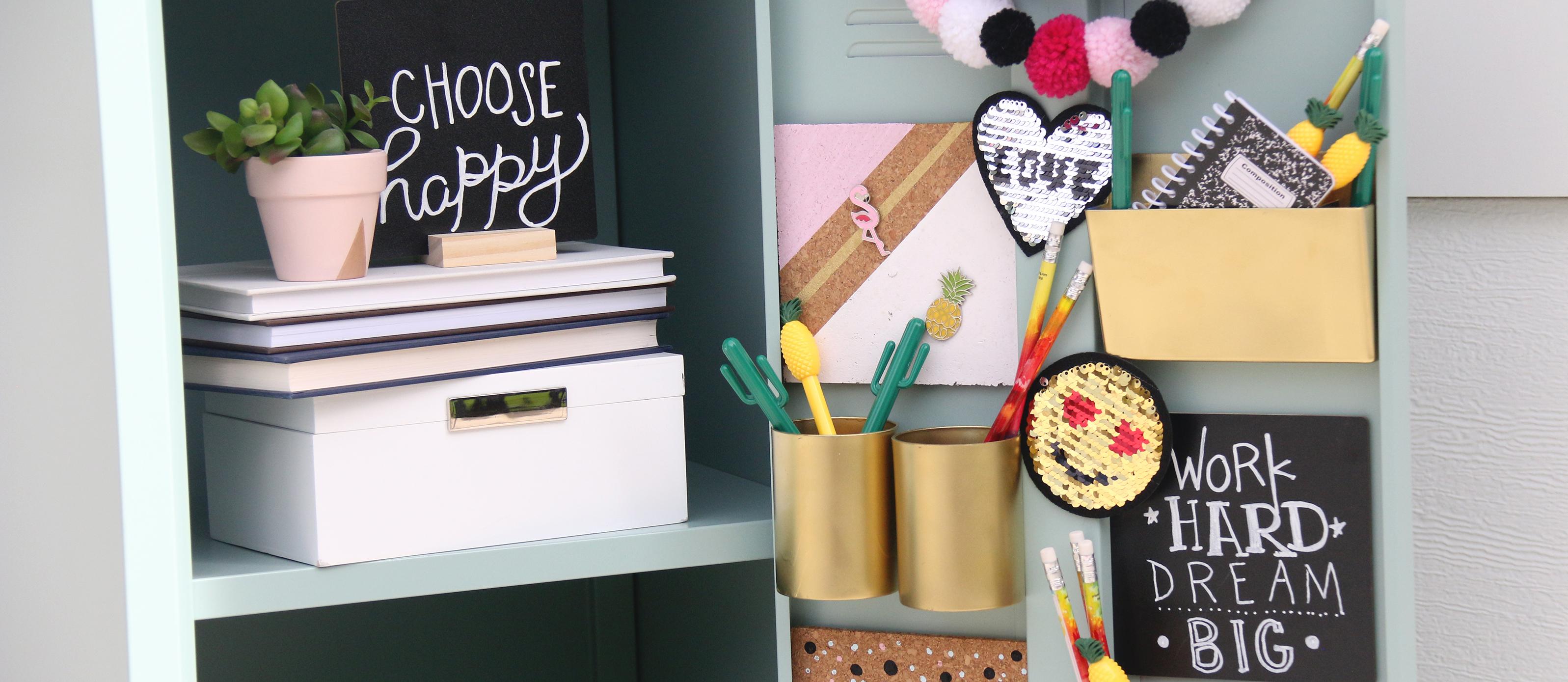 12 DIY Locker Decorations Ideas  Fun12
