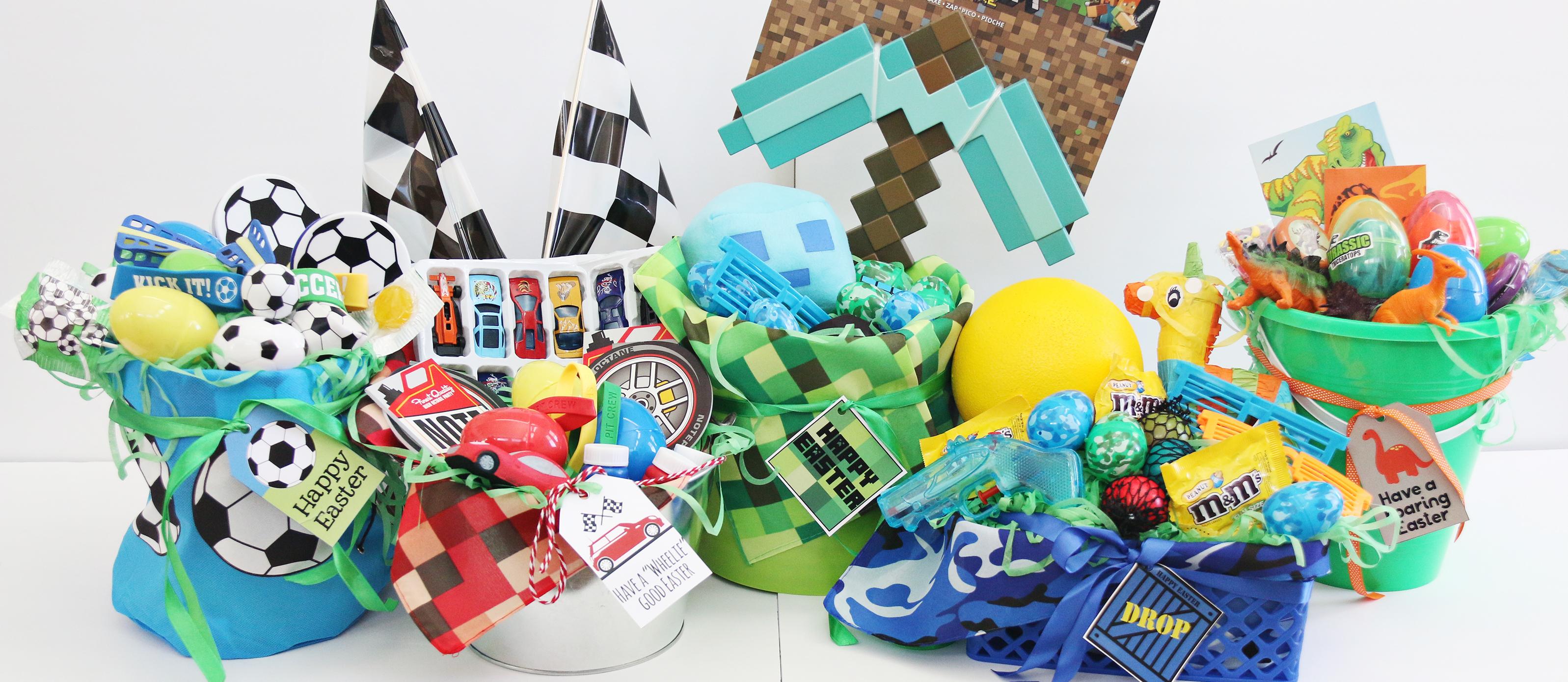Easter Basket Ideas For Boys Fun365