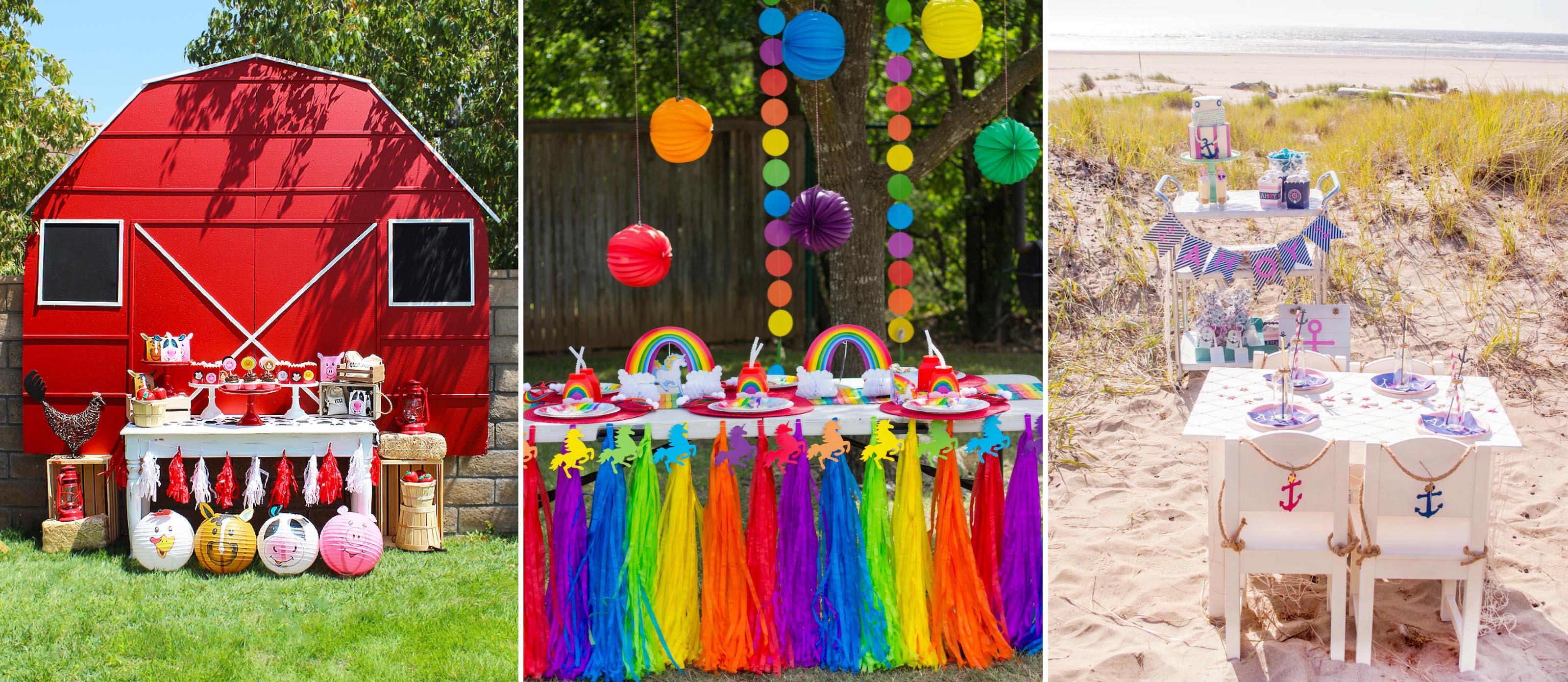 Outdoor Birthday Party Ideas Fun365