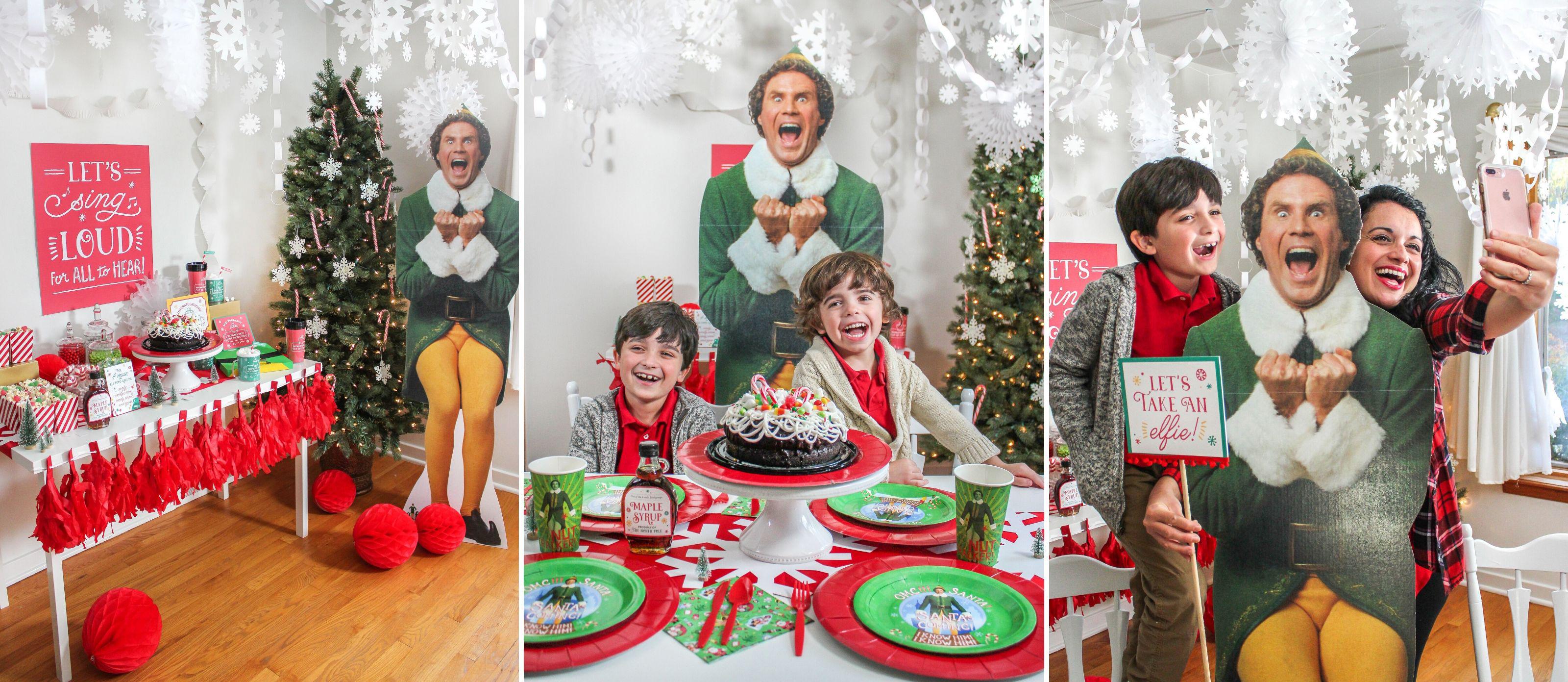 Elf Christmas Movie Party Fun365