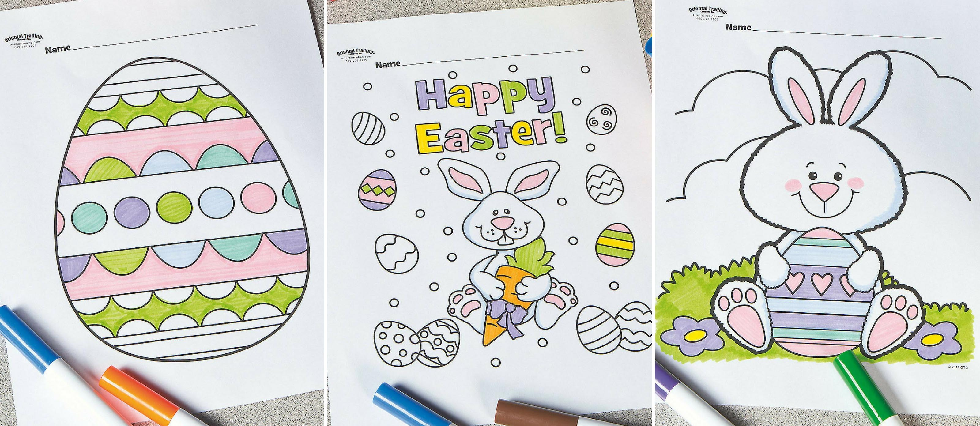 Free Printable Easter Coloring Pages Fun365