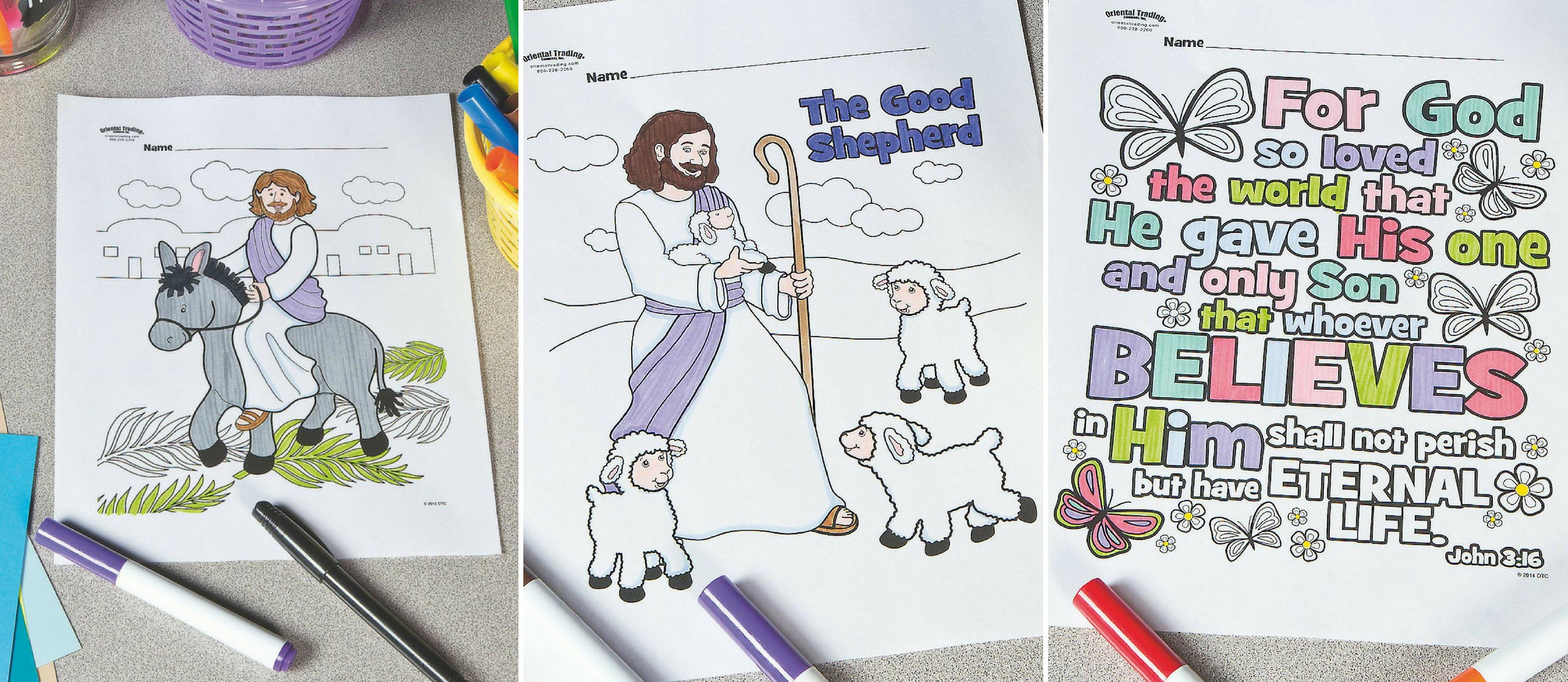 Free Religious Printable Coloring Pages Fun365